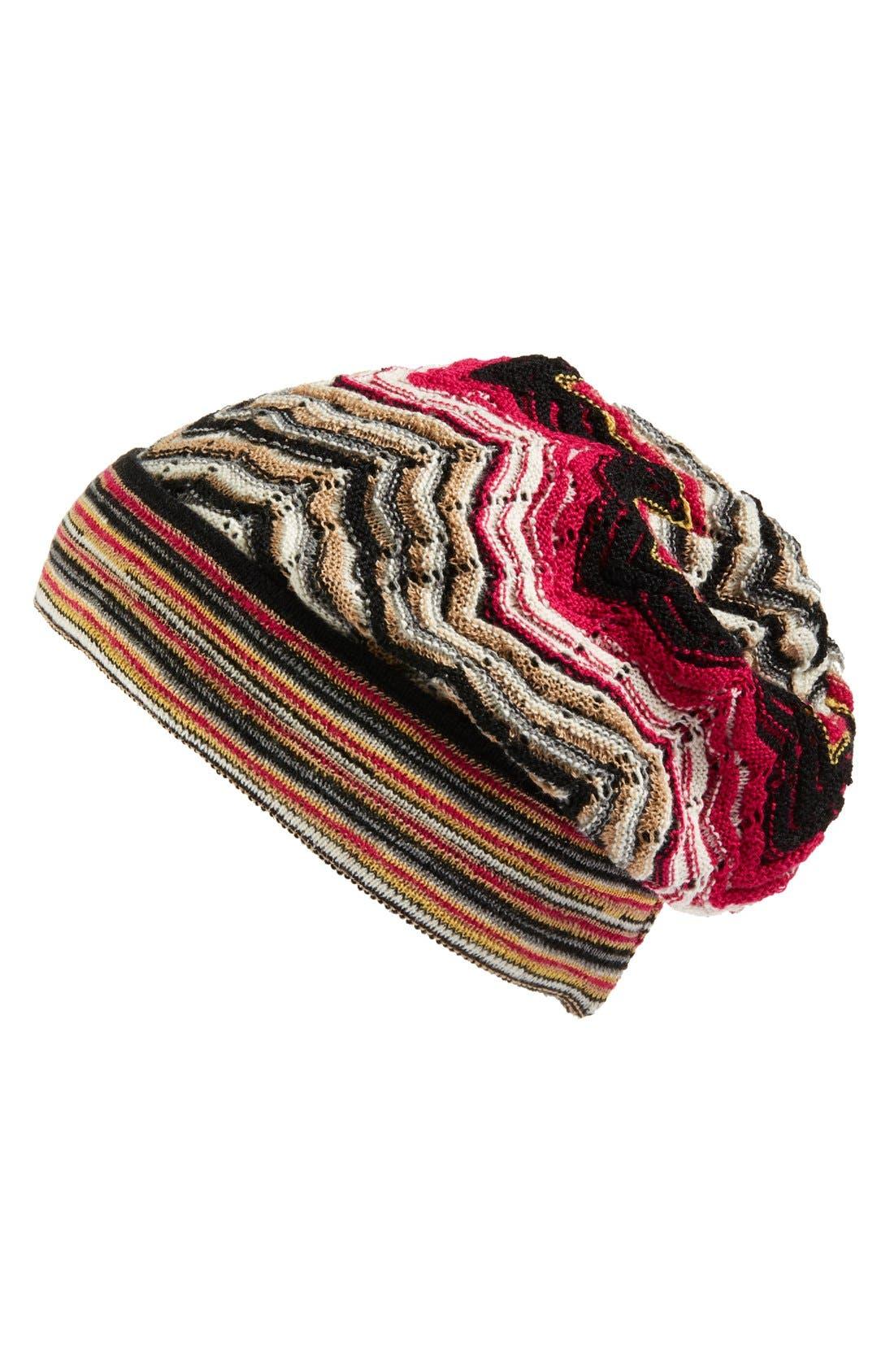 Alternate Image 1 Selected - Missoni Stripe Slouchy Beanie