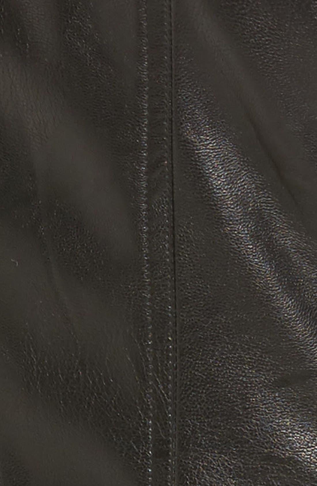 Alternate Image 4  - KUT from the Kloth 'Elena' Faux Leather Motocross Jacket