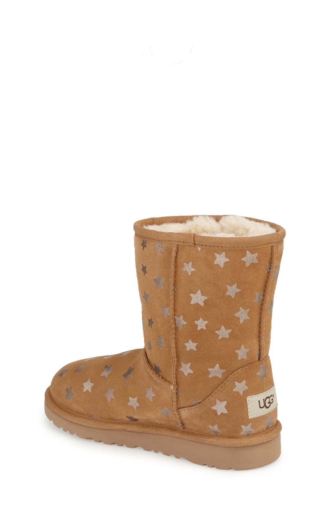 Alternate Image 2  - UGG® Classic Stars Boot (Little Kid & Big Kid) (Nordstrom Exclusive)