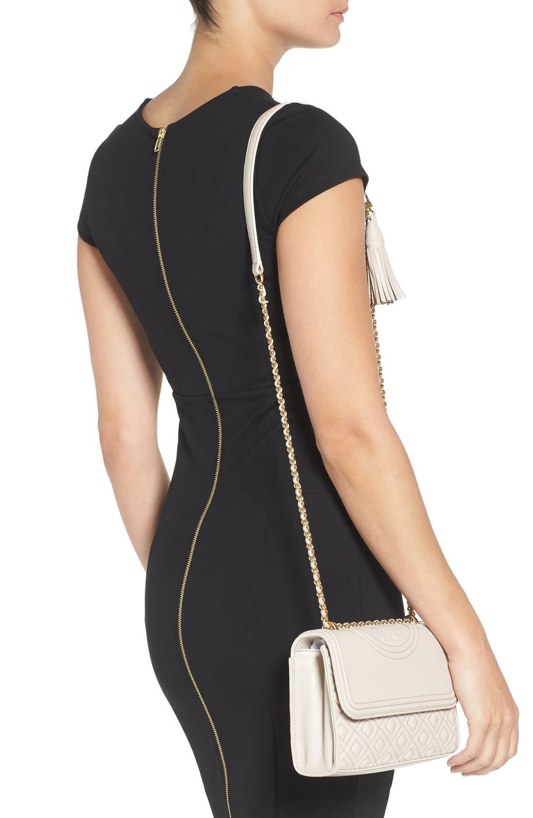 Alternate Image 2  - Tory Burch 'Small Fleming' Quilted Leather Shoulder Bag