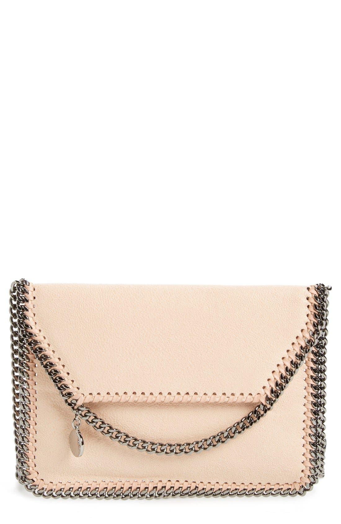 STELLA MCCARTNEY Mini Falabella - Shaggy Deer Faux Leather Crossbody Bag