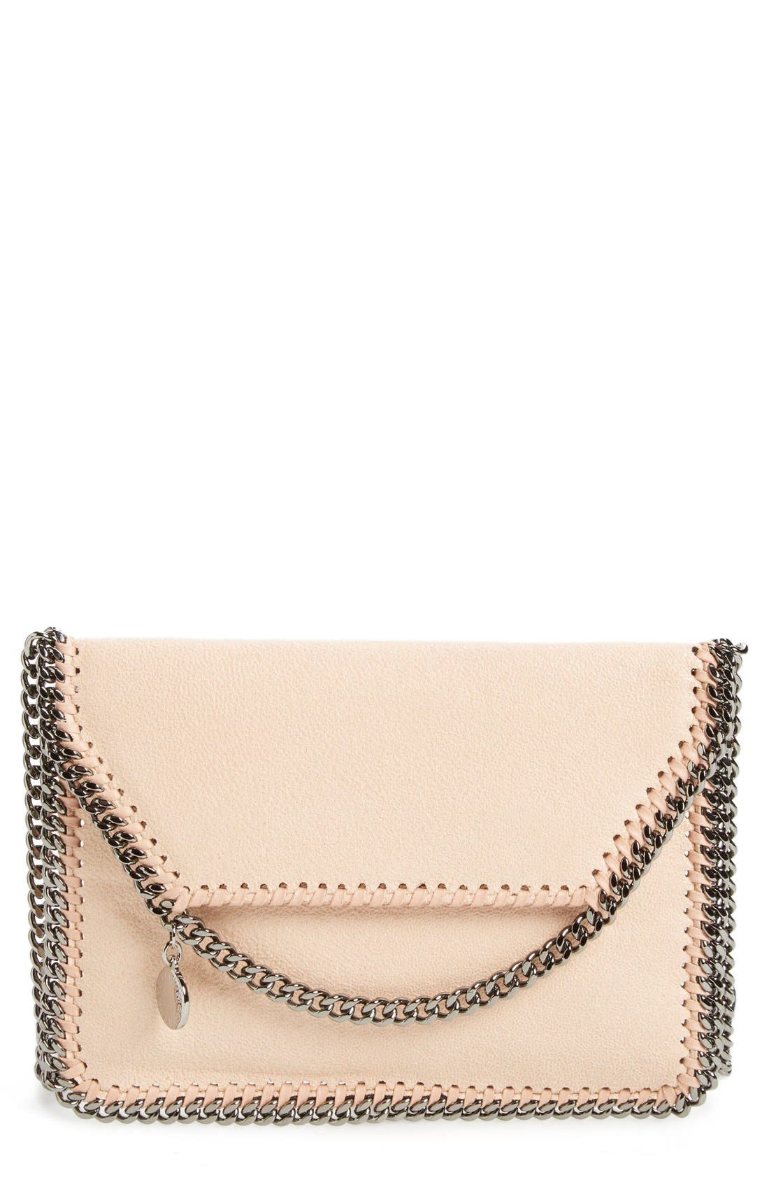 Stella McCartney 'Mini Falabella - Shaggy Deer' Faux Leather Crossbody Bag
