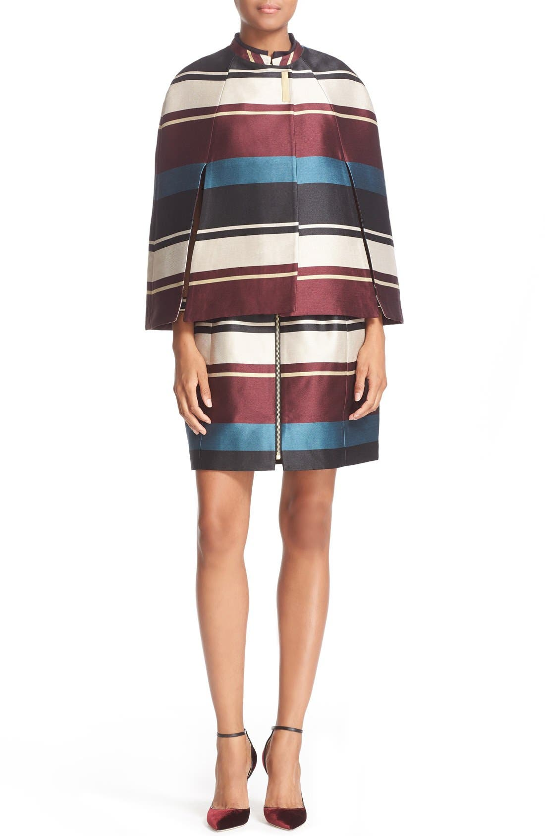 Alternate Image 2  - Ted Baker London 'Zuavi' Stripe Jacquard Cape
