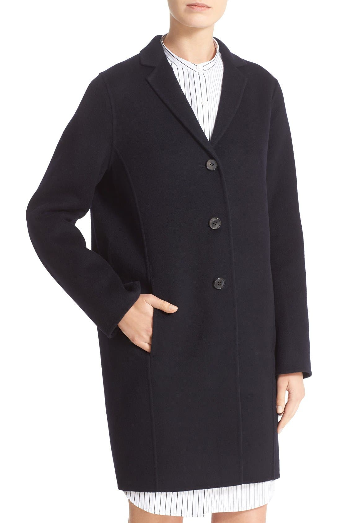 Alternate Image 6  - ACNE Studios Elsa Double Wool & Cashmere Cocoon Coat
