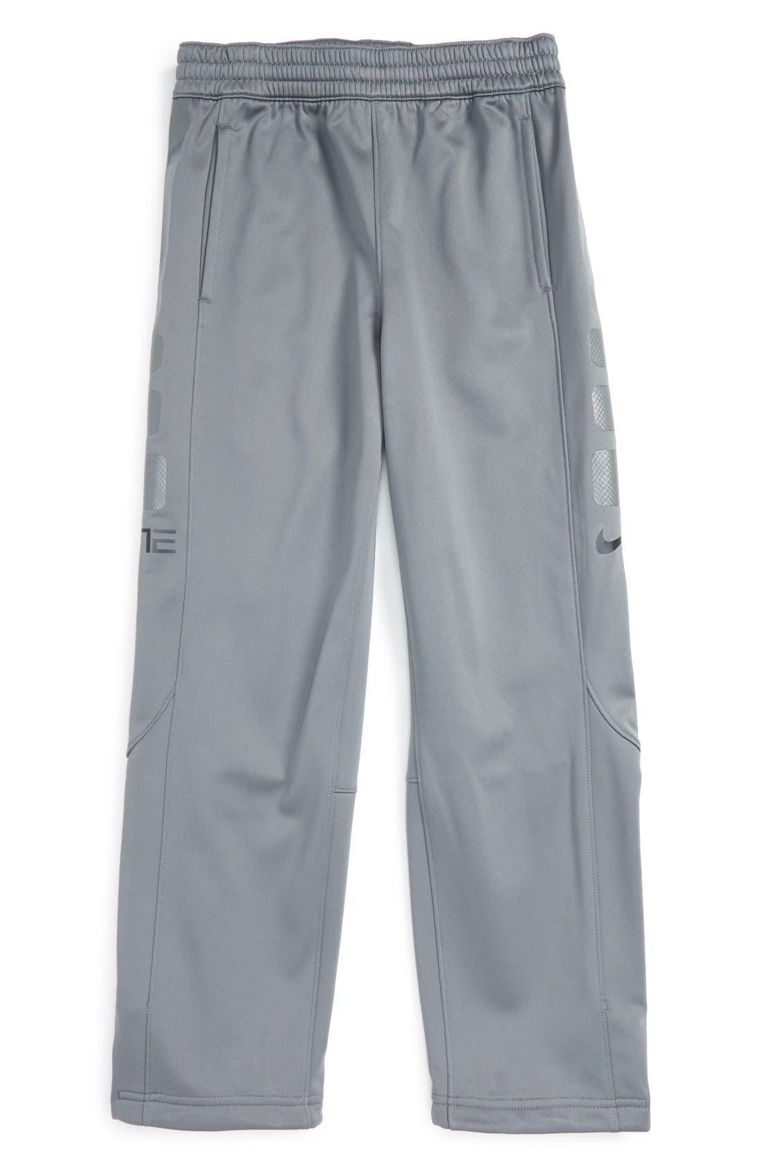 'Elite' Therma-FIT Pants,                         Main,                         color, Cool Grey/ Anthracite