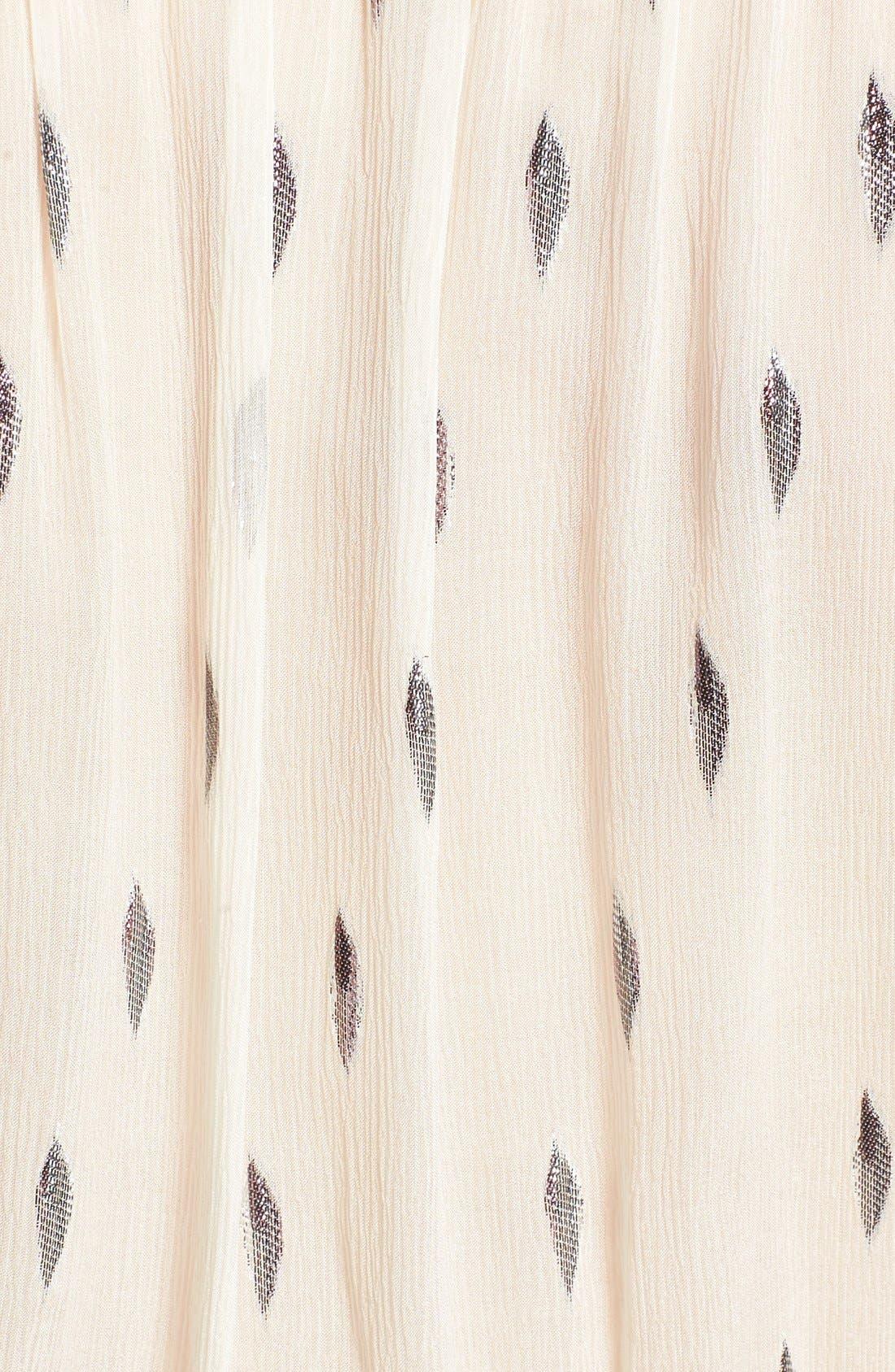 Alternate Image 6  - Olivia Palermo + Chelsea28 Tie Neck Peplum Silk Top
