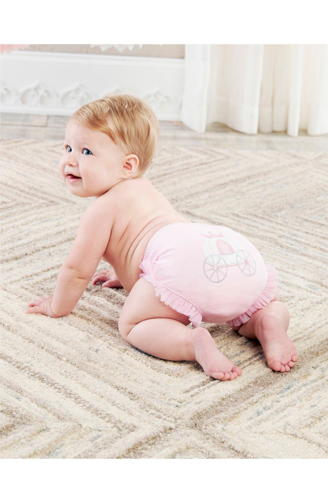 Alternate Image 3  - Baby Aspen 'Her Royal Hineys' Bloomers (3-Pack) (Baby Girls)
