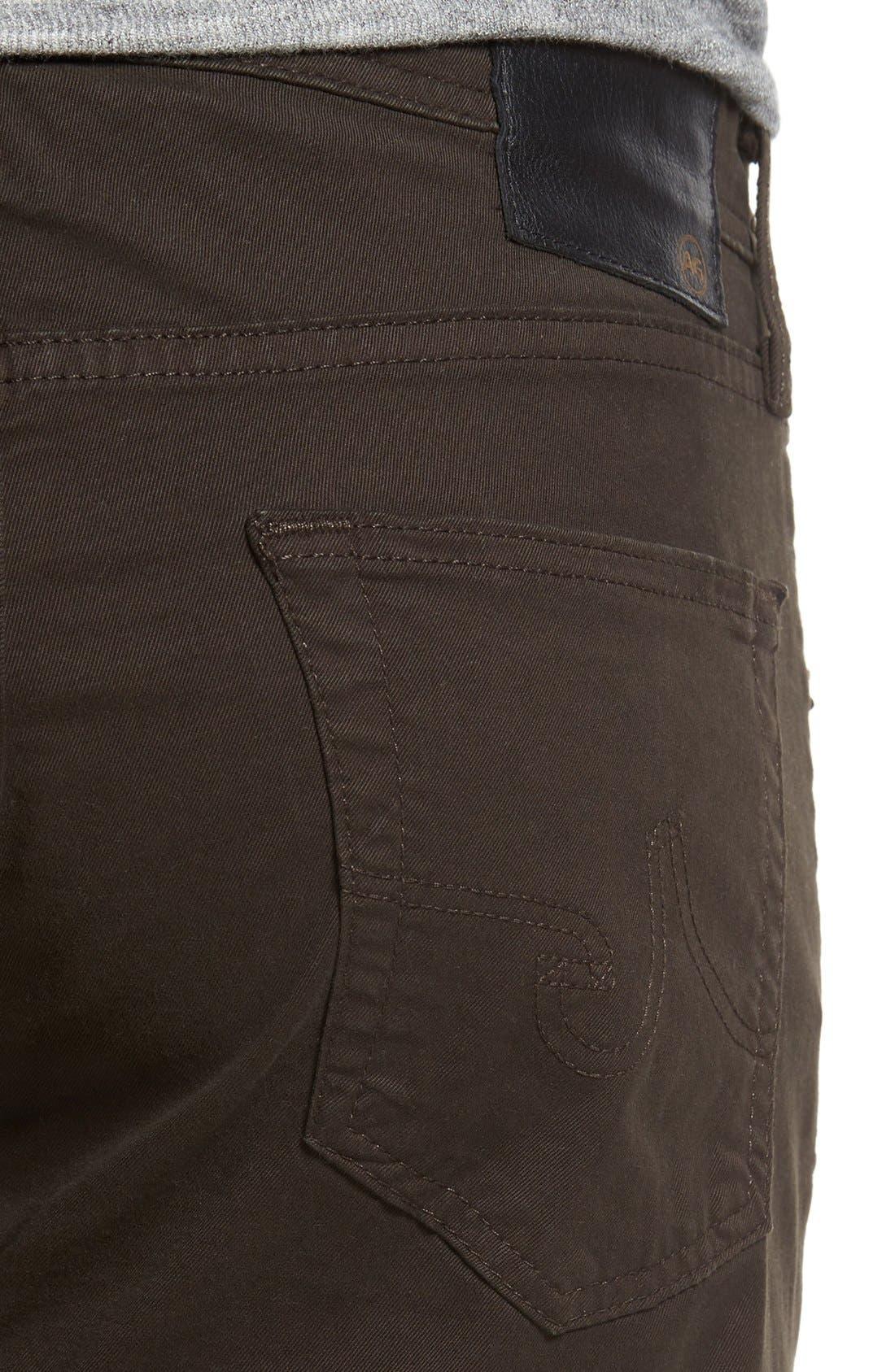 'Matchbox BES' Slim Fit Pants,                             Alternate thumbnail 6, color,                             Deep Bark