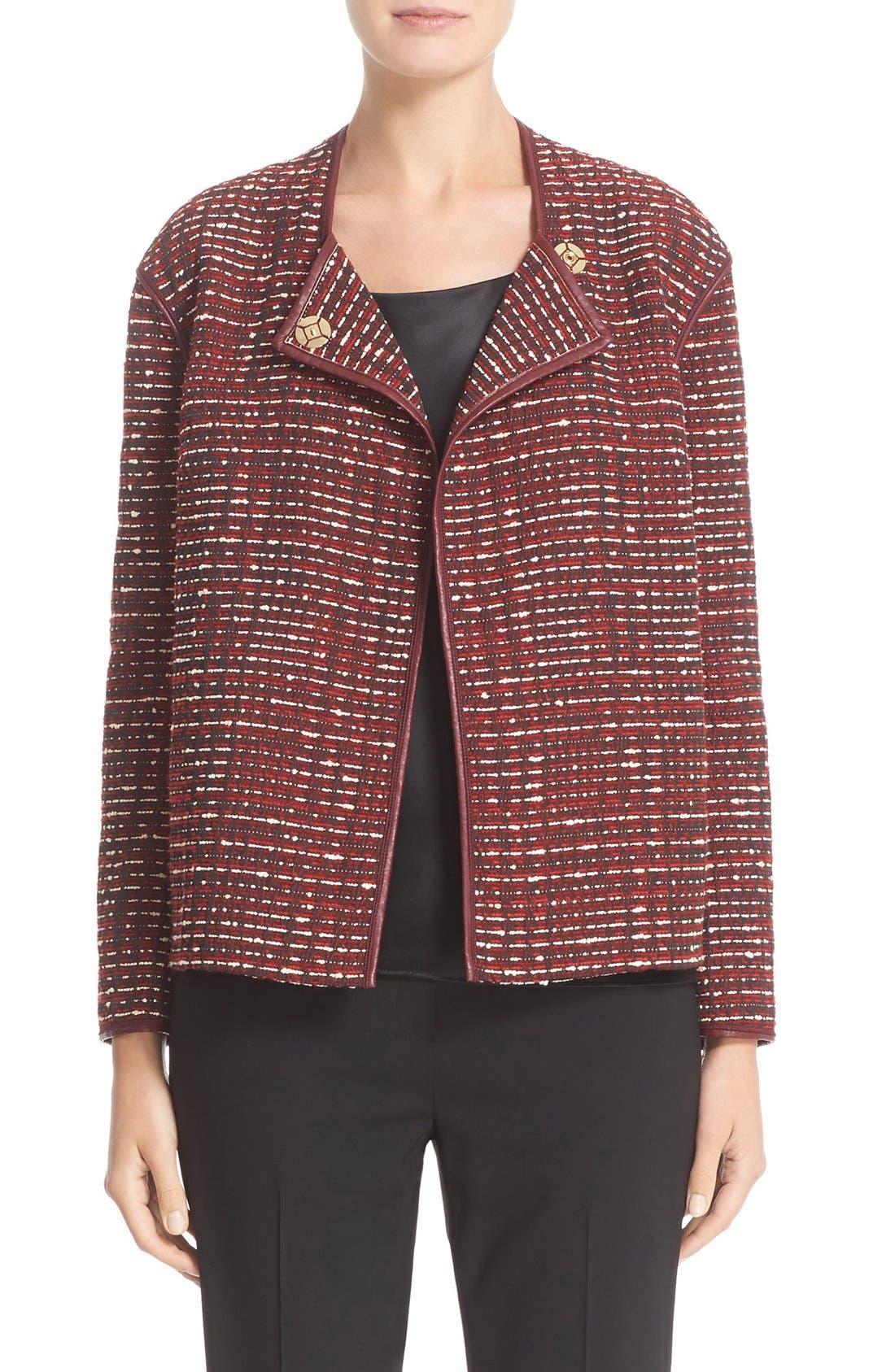 Main Image - Lafayette 148 New York 'Dane' Tweed Jacket