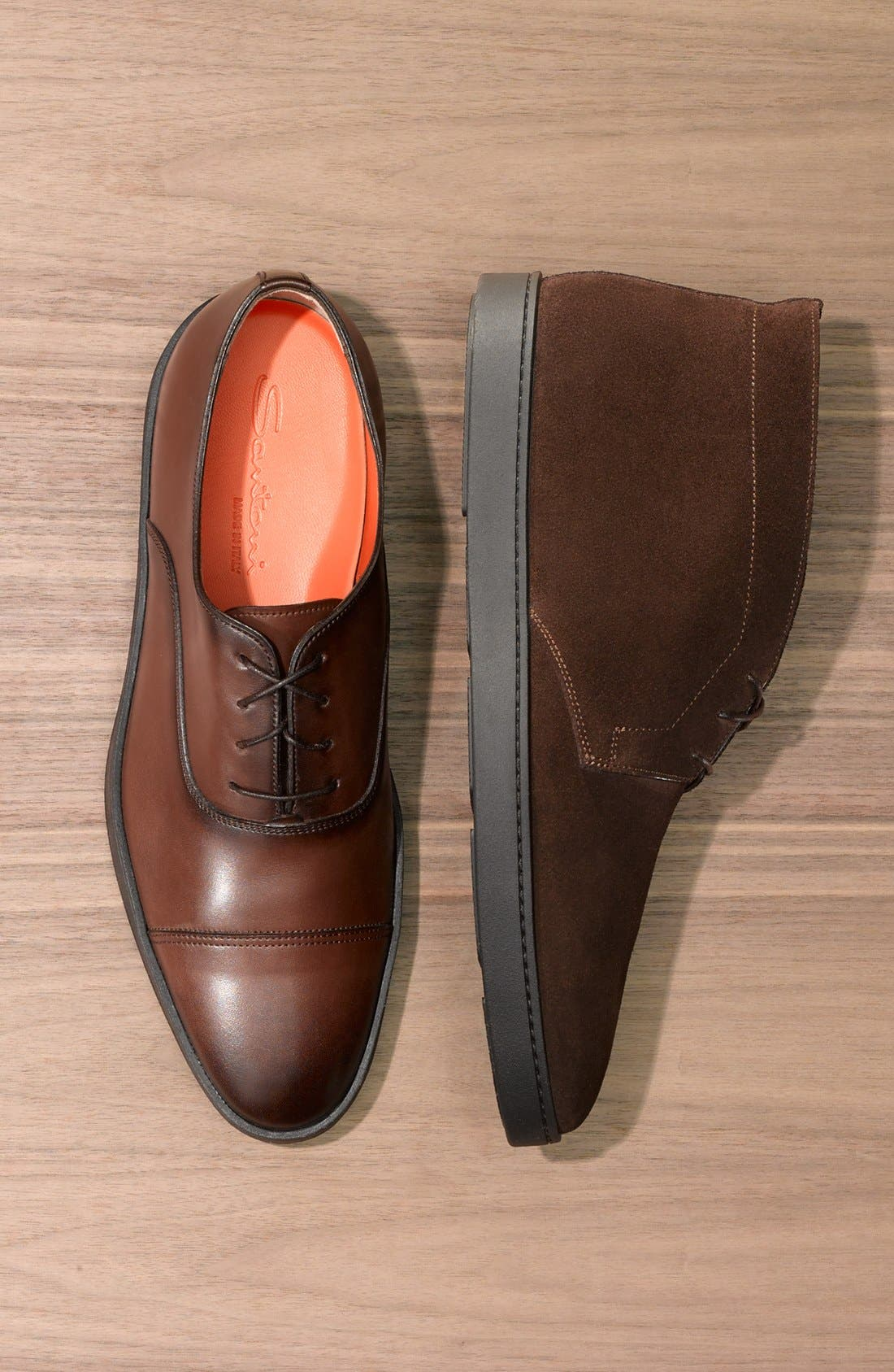 Alternate Image 5  - Santoni 'Durbin' Oxford Sneaker (Men)