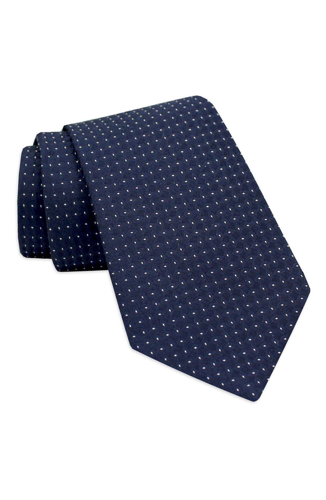 Main Image - Gitman Dot Woven Silk Tie
