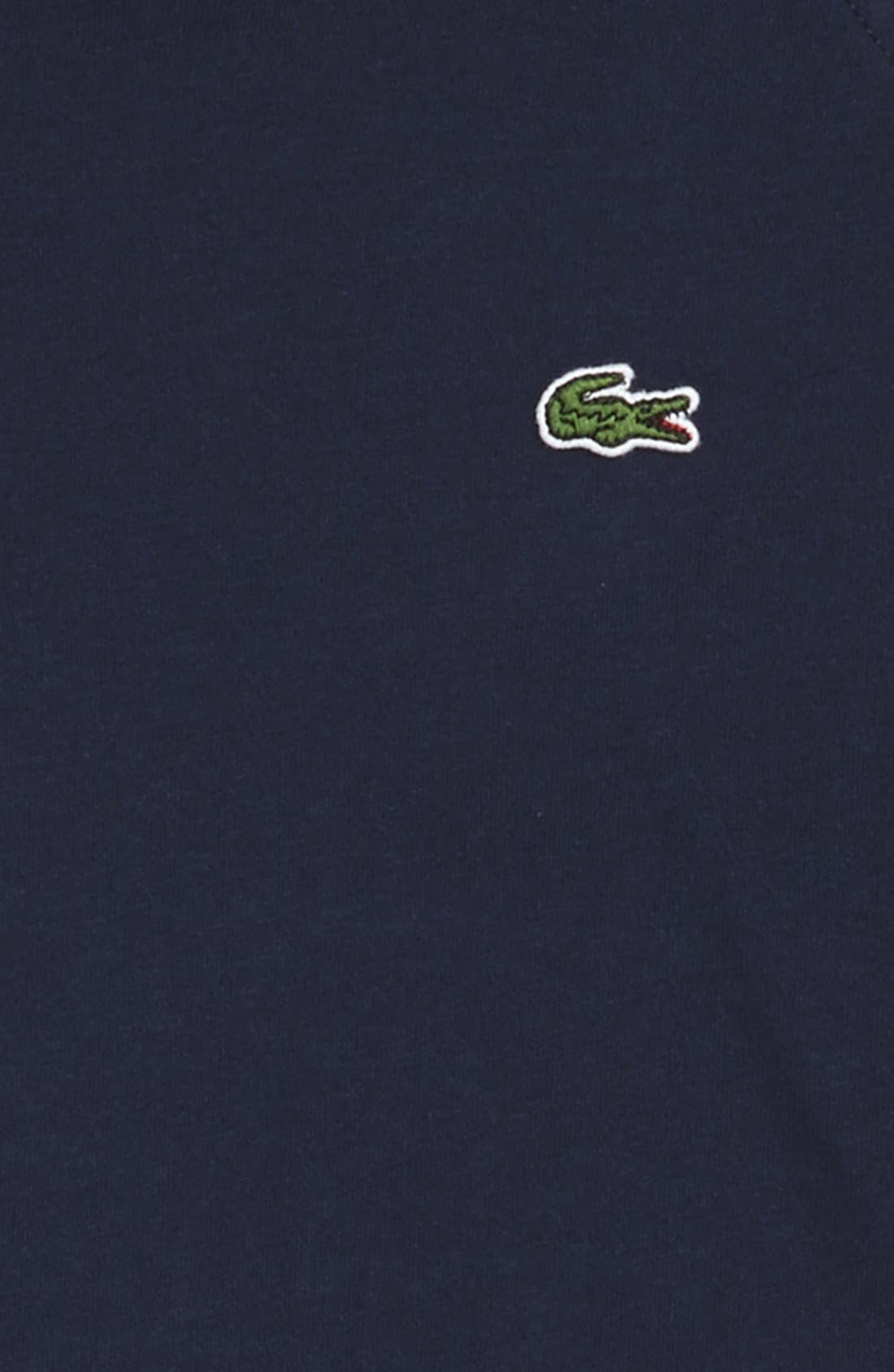 Alternate Image 2  - Lacoste Hooded Jersey T-Shirt (Big Boys)