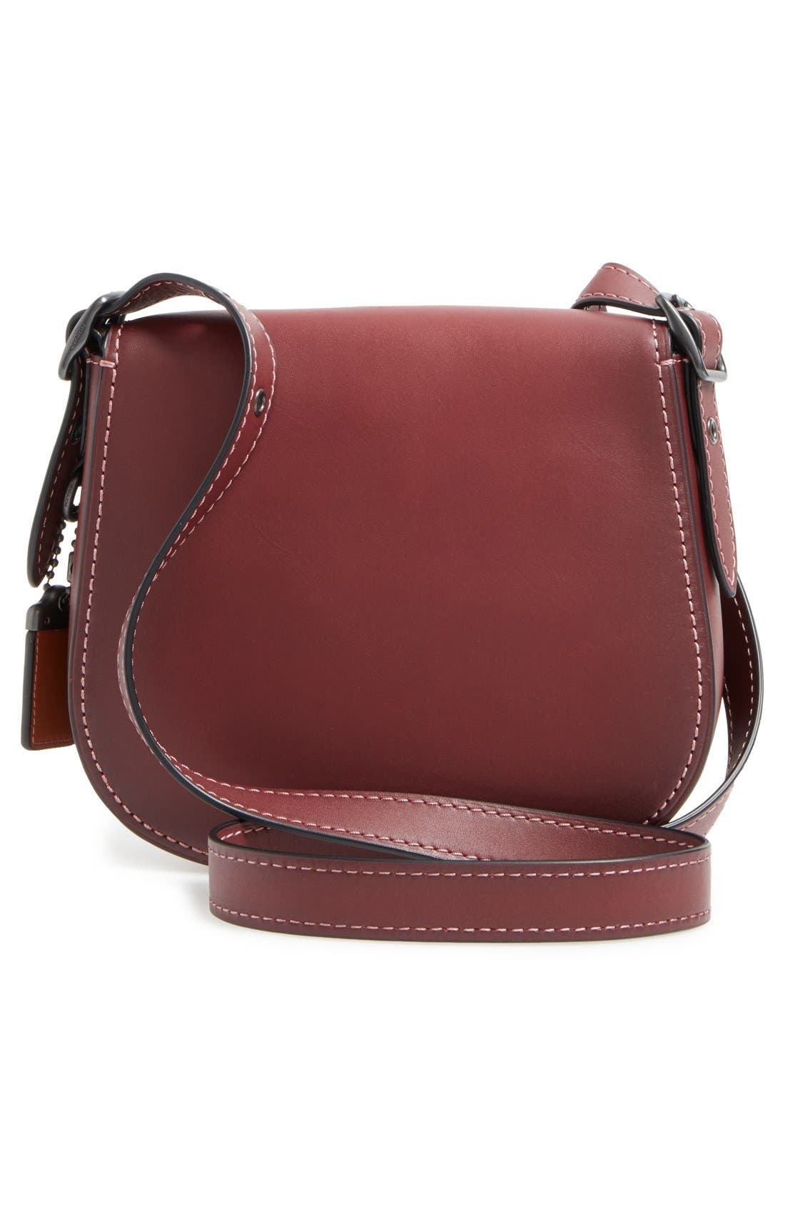 Alternate Image 3  - COACH 1941 '23' Leather Saddle Bag