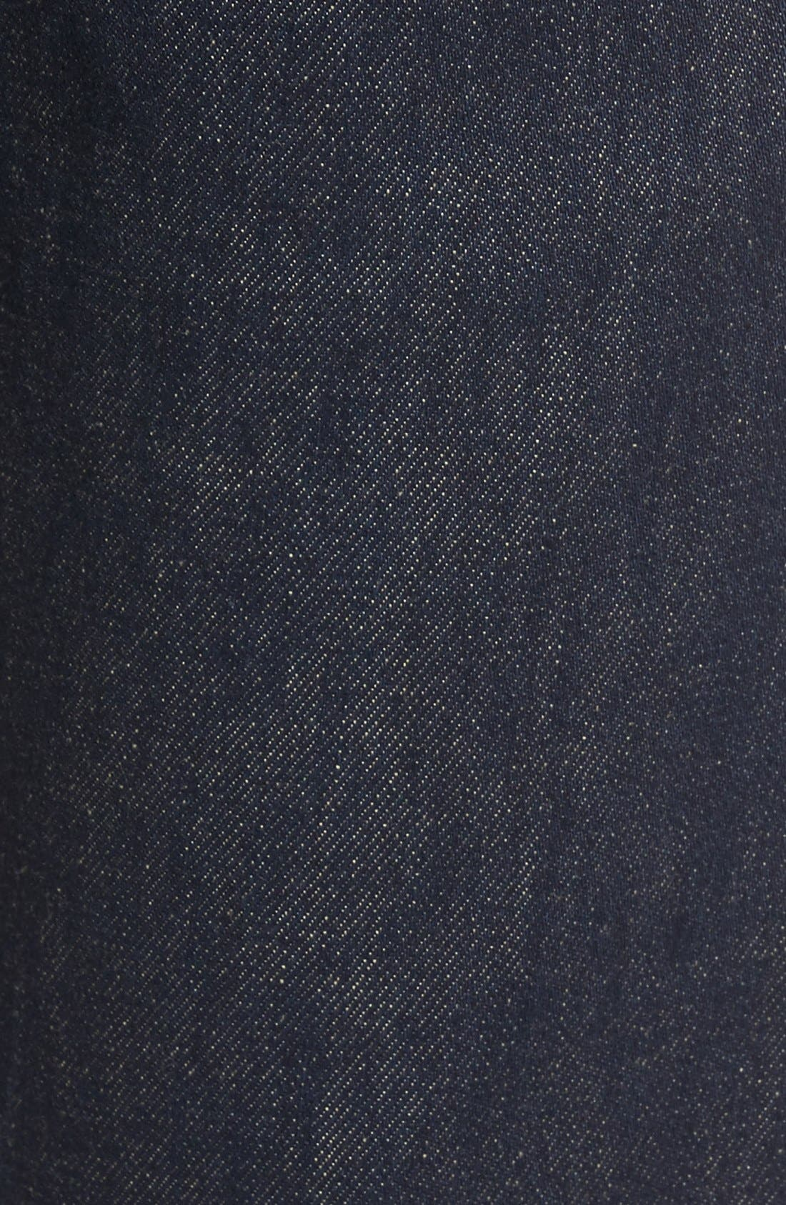 Alternate Image 5  - Levi's® 501® CT Slim Fit Jeans (Noten) (Regular & Tall)