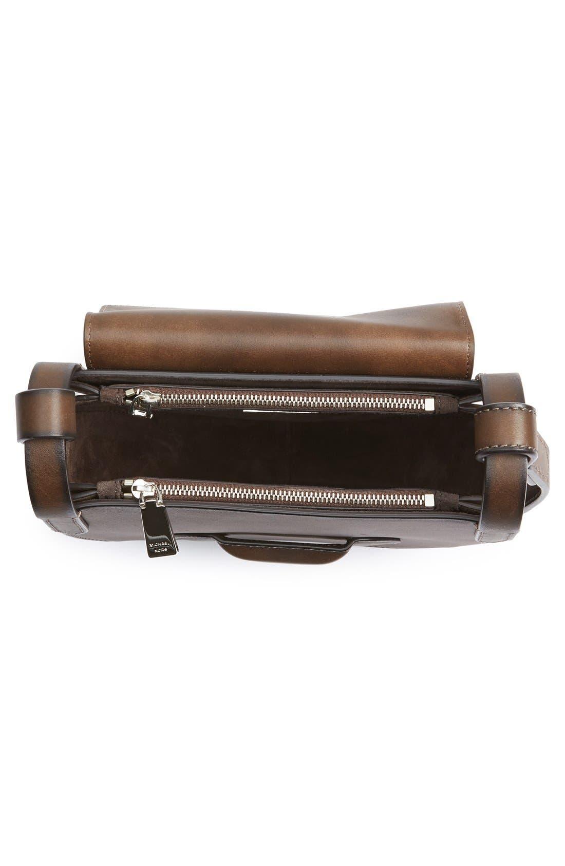 Alternate Image 4  - Michael Kors 'Daria' Leather Saddle Bag