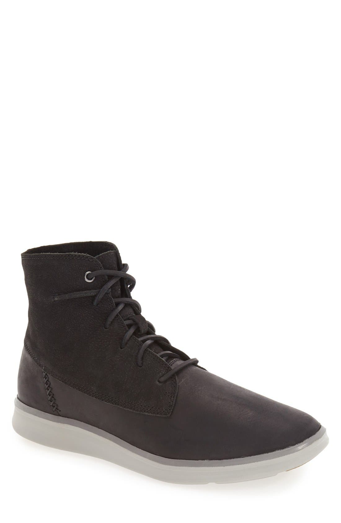 Alternate Image 1 Selected - UGG® 'Lamont' High Top Sneaker (Men)