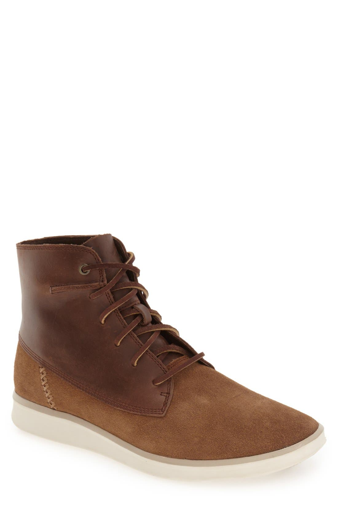 Alternate Image 1 Selected - UGG® 'Lamont' High Top Sneaker (Men)