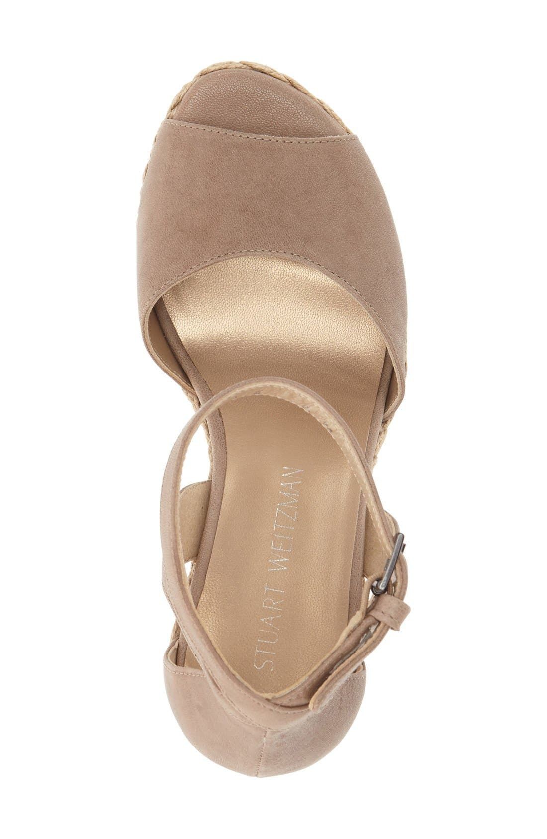 Alternate Image 3  - Stuart Weitzman 'Hijinx' Espadrille Platform Wedge Sandal (Women)