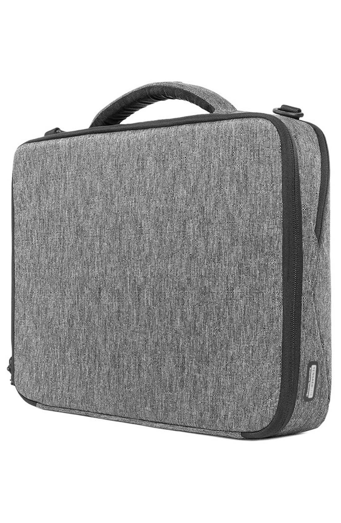 """'Reform' 13"""" Laptop Briefcase,                             Alternate thumbnail 6, color,                             Heather Black"""
