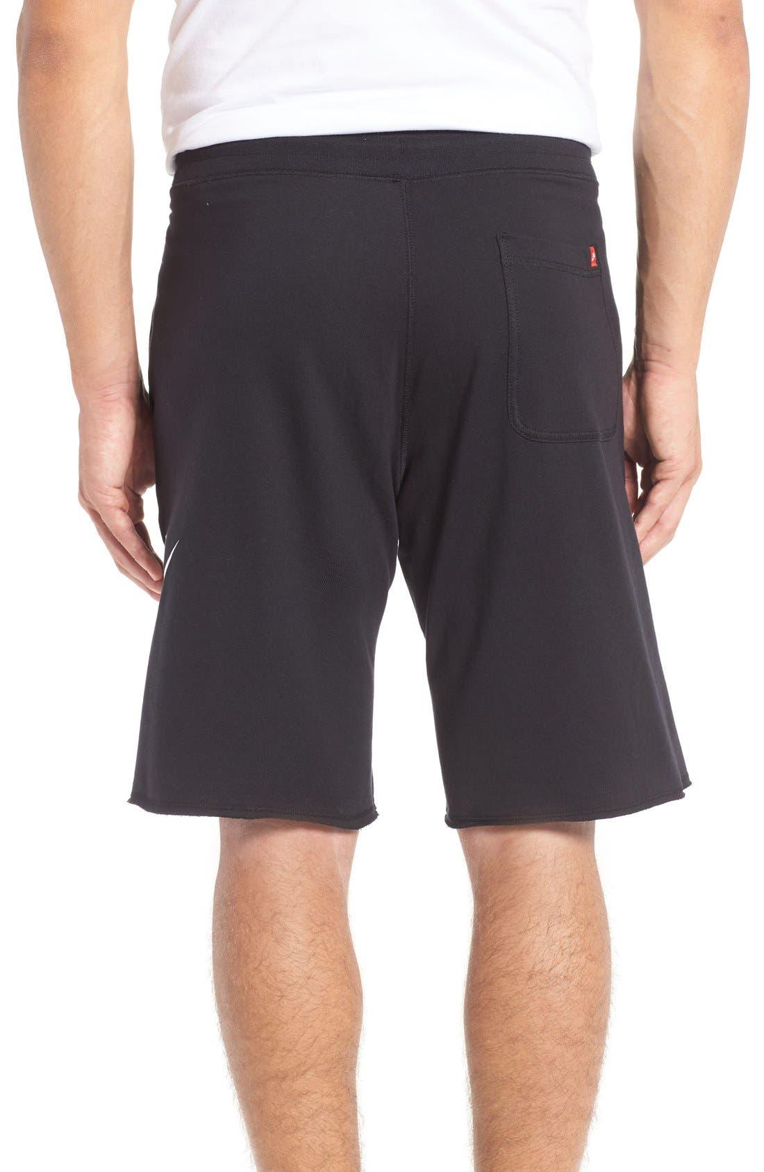 Alternate Image 2  - Nike 'NSW' Logo French Terry Shorts