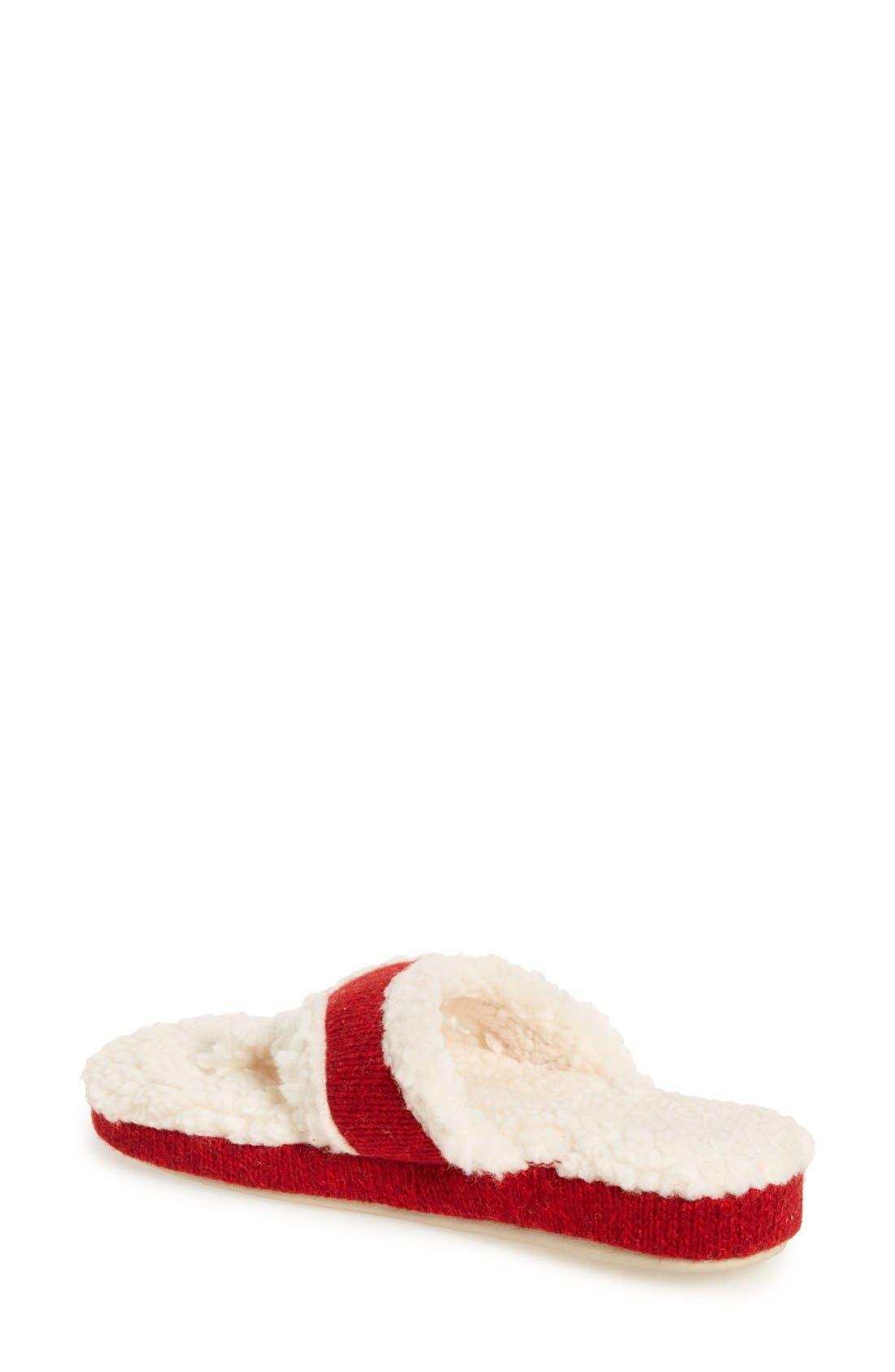Alternate Image 2  - Acorn 'Ragg' Spa Slipper (Women)