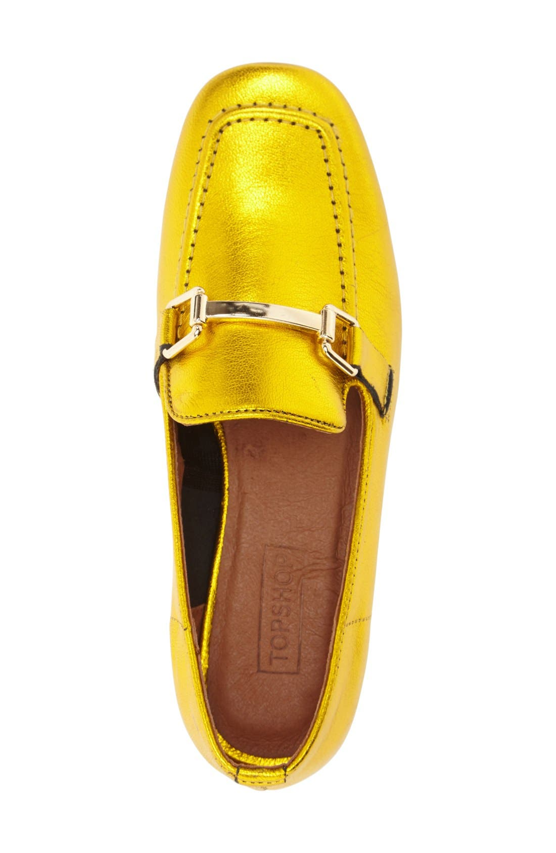 Alternate Image 3  - Topshop 'Karter' Square Toe Loafer (Women)