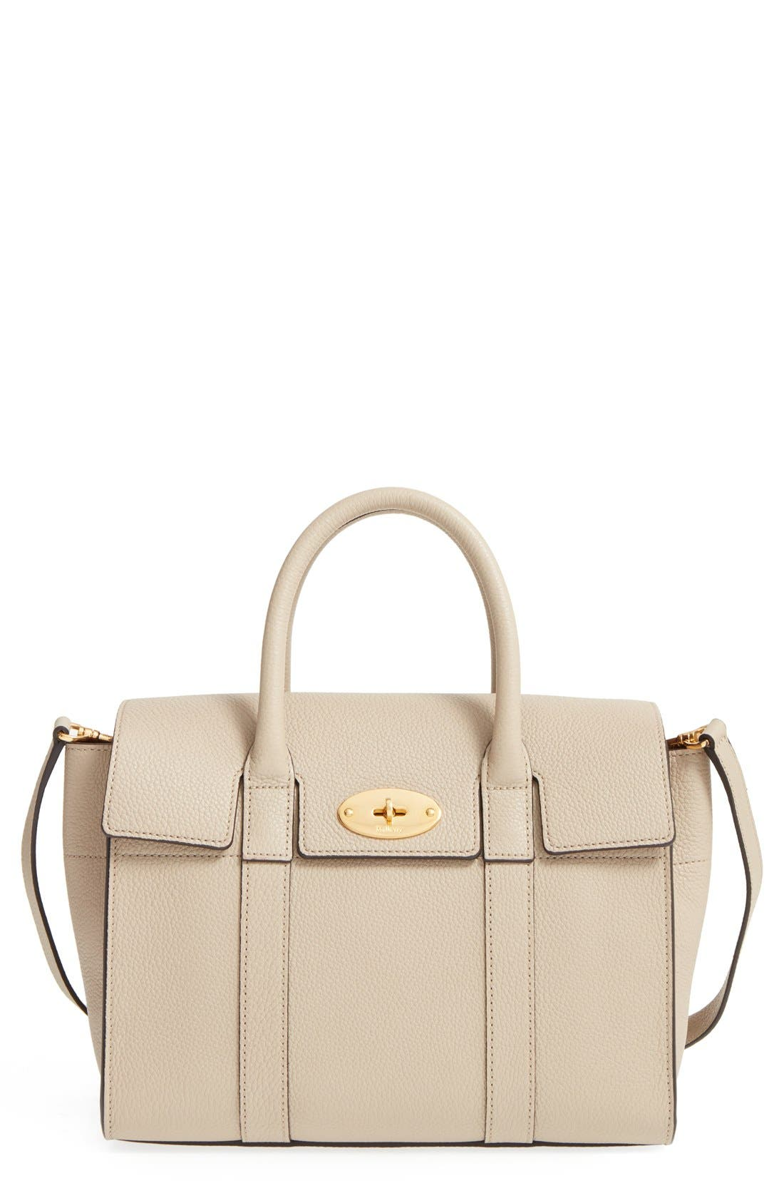 Main Image - Mulberry 'Small Bayswater' Leather Satchel