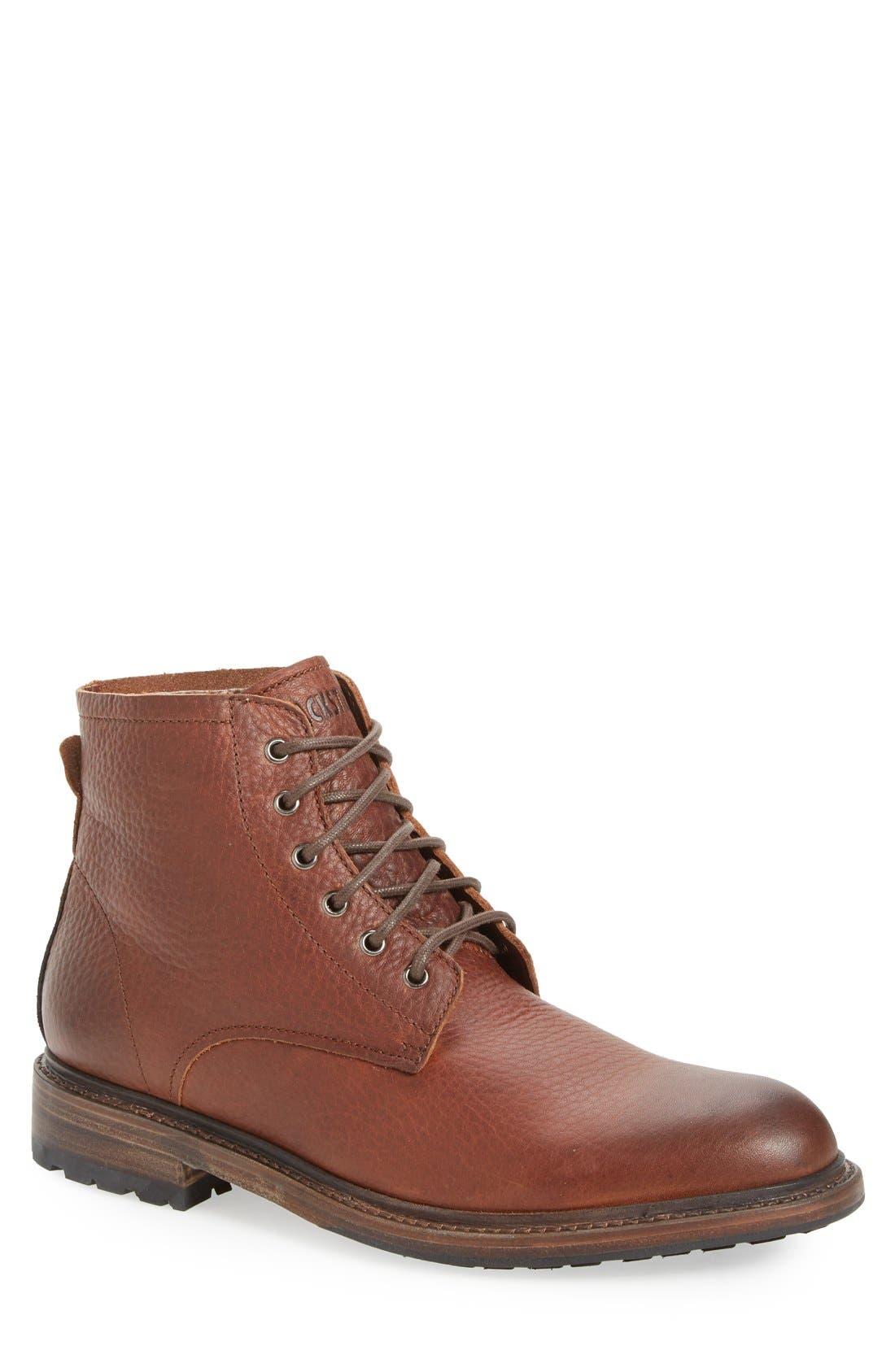 Blackstone 'KM32' Plain Toe Boot (Men)