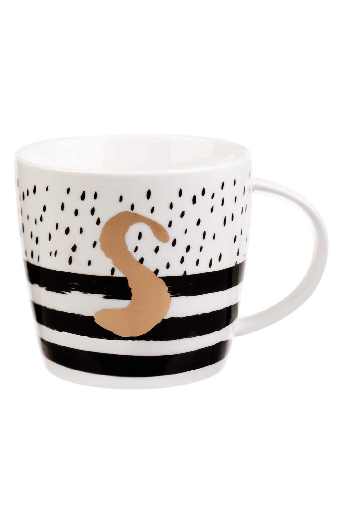 Main Image - Slant Collections Monogram Mug