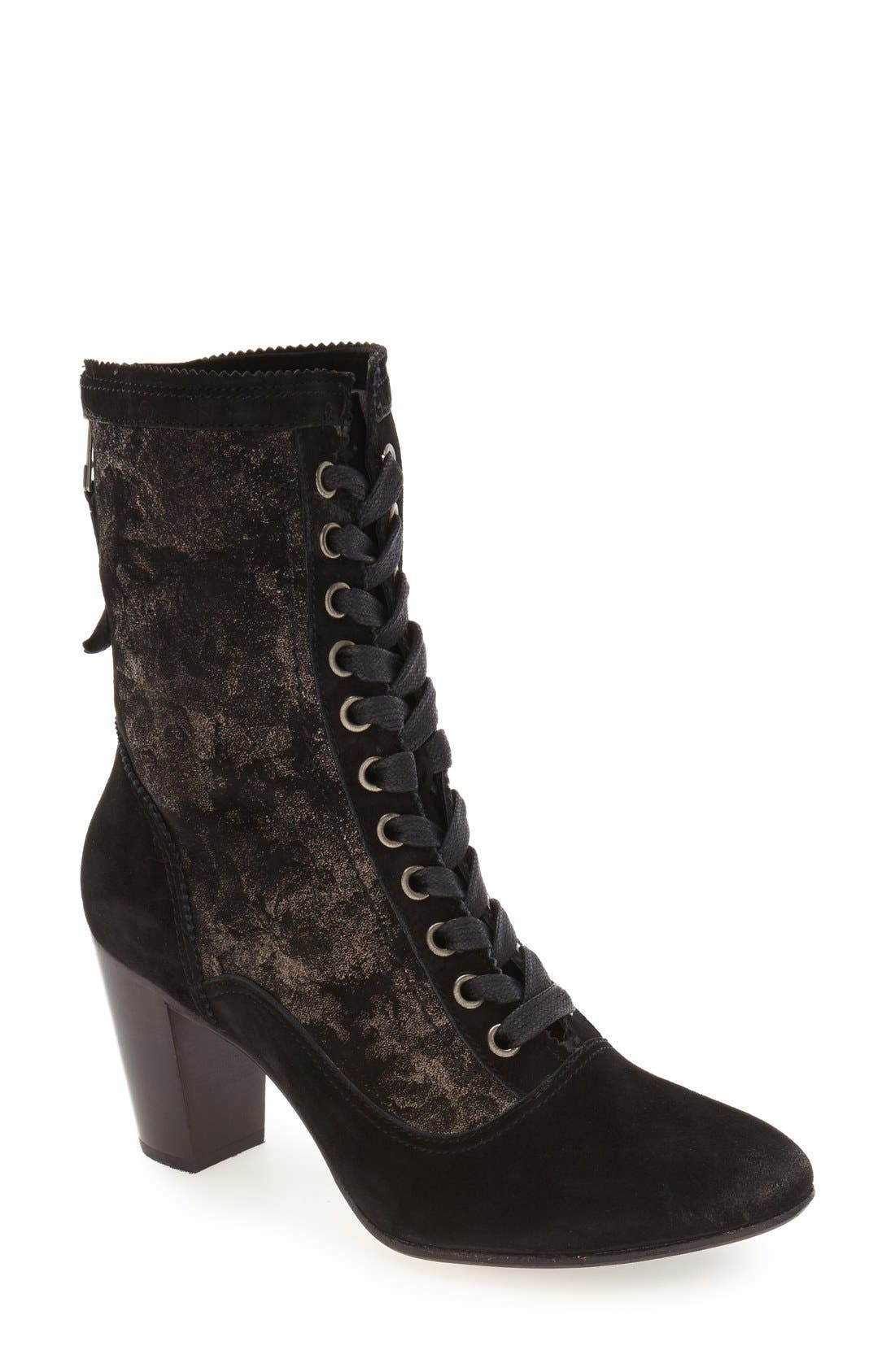 Alternate Image 1 Selected - Johnston & Murphy 'Adaline' Lace-Up Boot (Women)