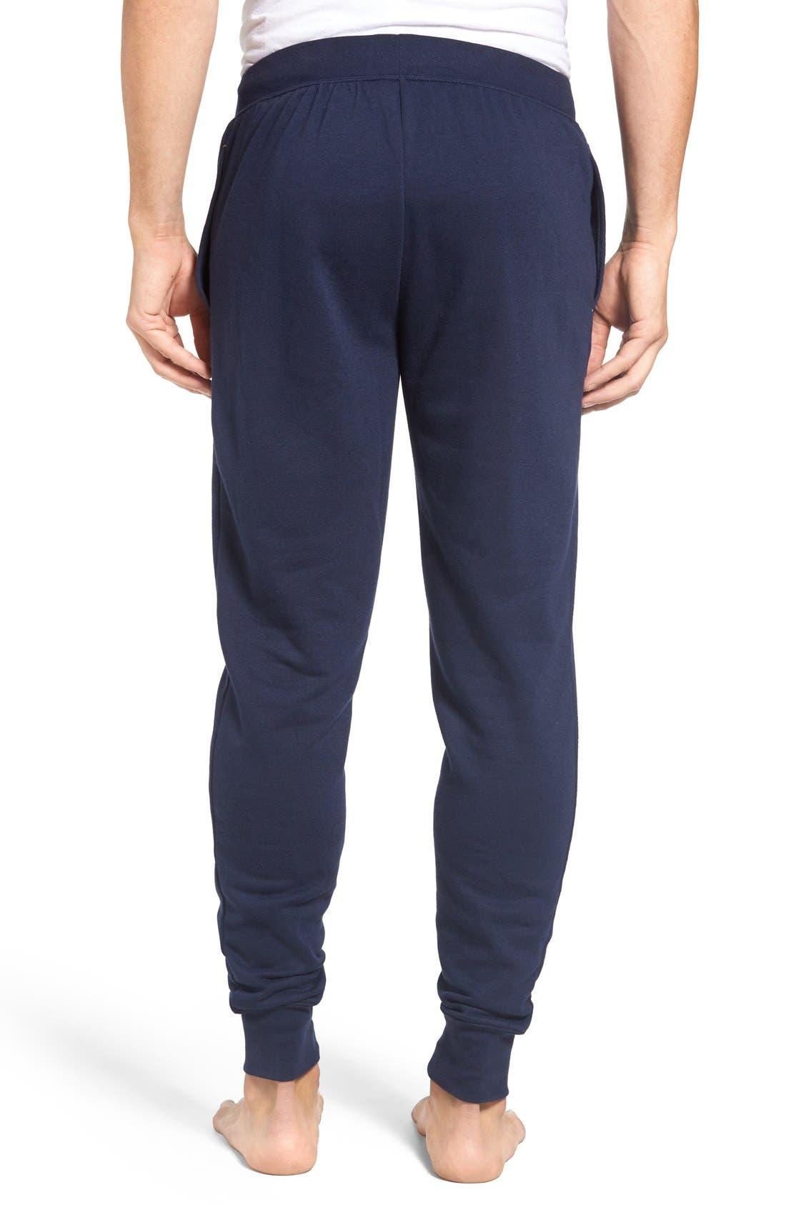 Alternate Image 2  - Polo Ralph Lauren Brushed Jersey Cotton Blend Jogger Pants