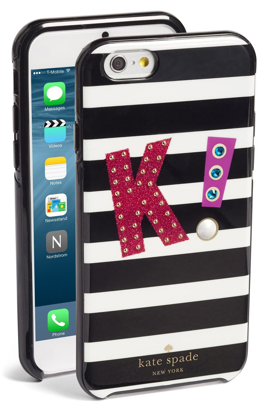 Alternate Image 1 Selected - kate spade new york initial iPhone 7 case