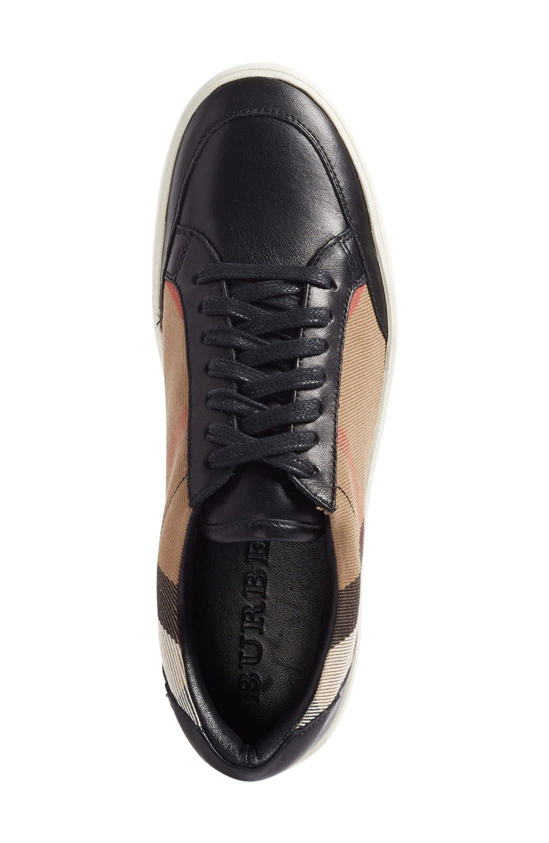 Alternate Image 3  - Burberry Salmond Sneaker (Women)