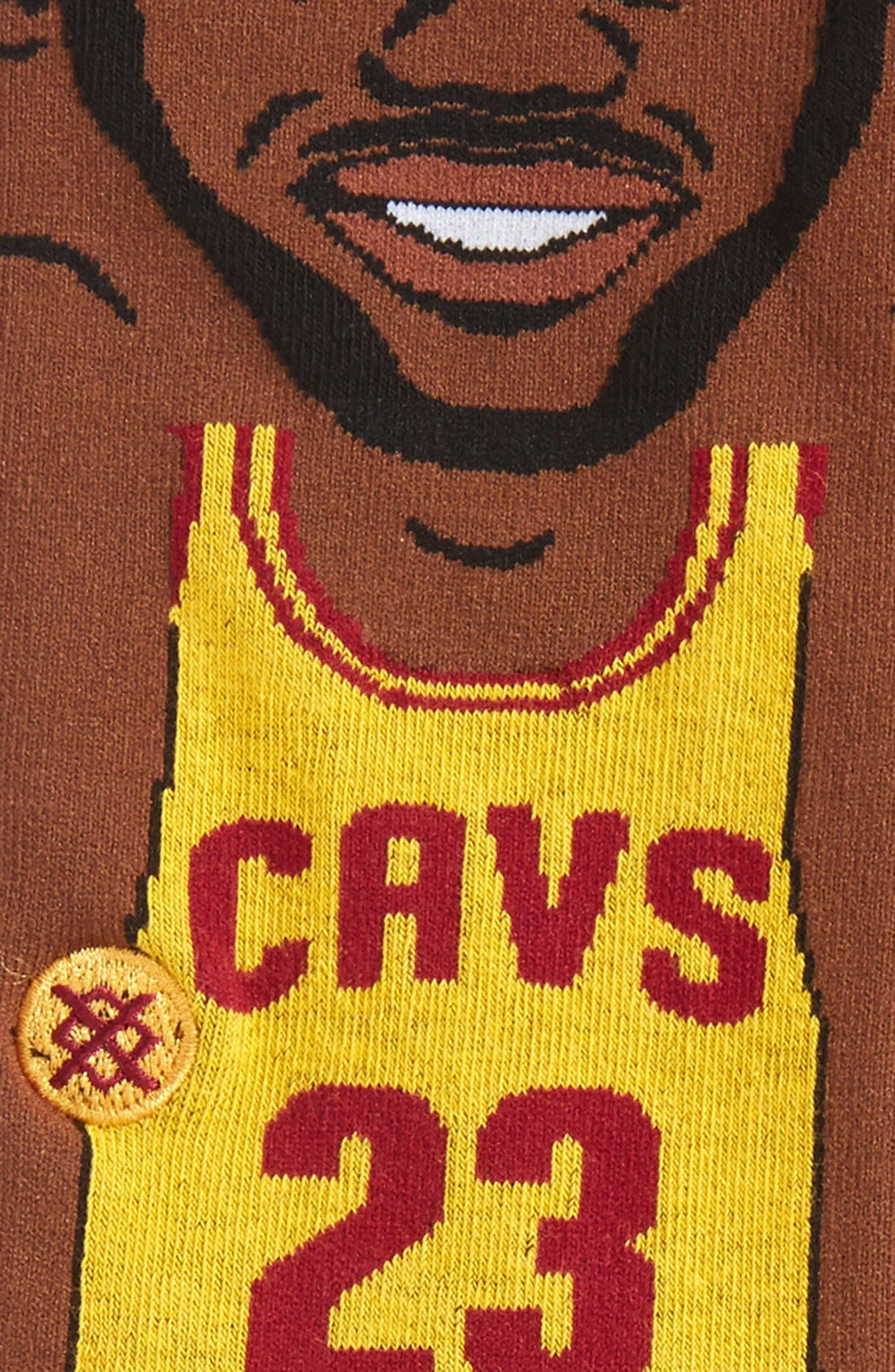 Alternate Image 2  - Stance 'NBA Legends - LeBron James' Crew Socks