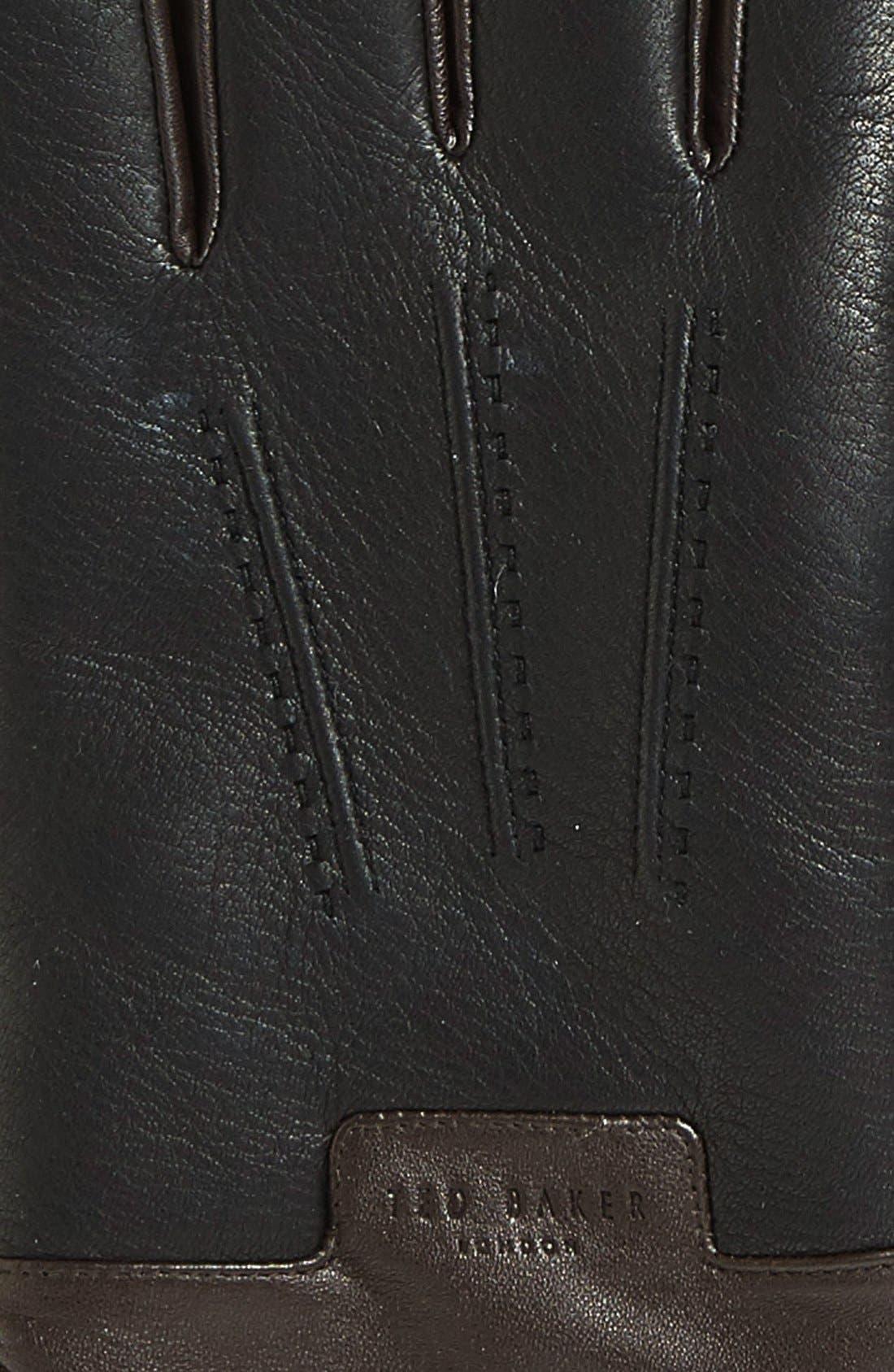 Alternate Image 2  - Ted Baker London Leather Gloves