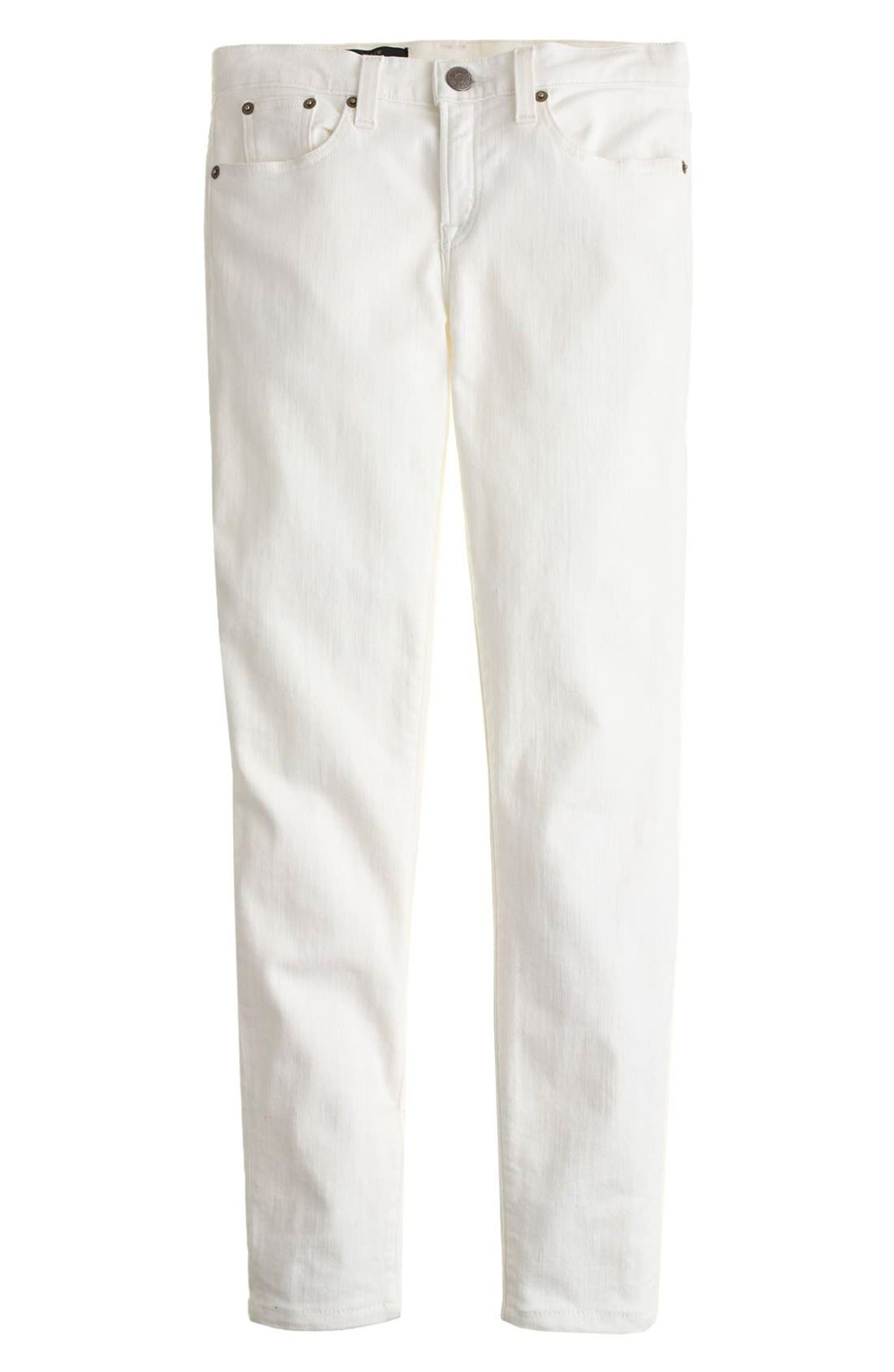 Toothpick Jeans,                             Alternate thumbnail 2, color,                             White