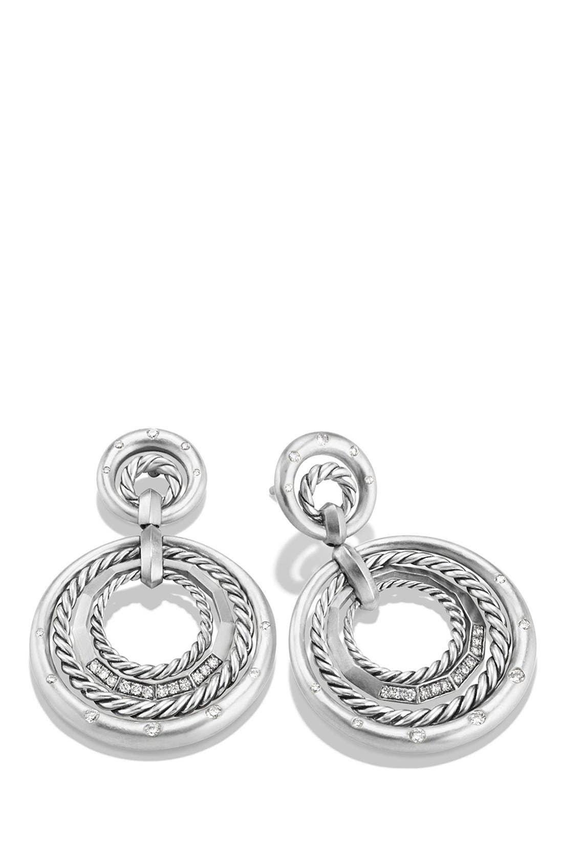 Alternate Image 2  - David Yurman 'Stax' Diamond Drop Earrings