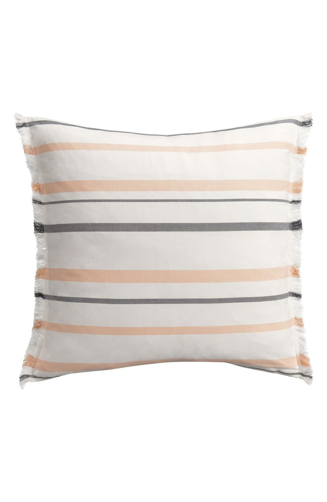 Alternate Image 1 Selected - cupcakes and cashmere Stripe Euro Sham