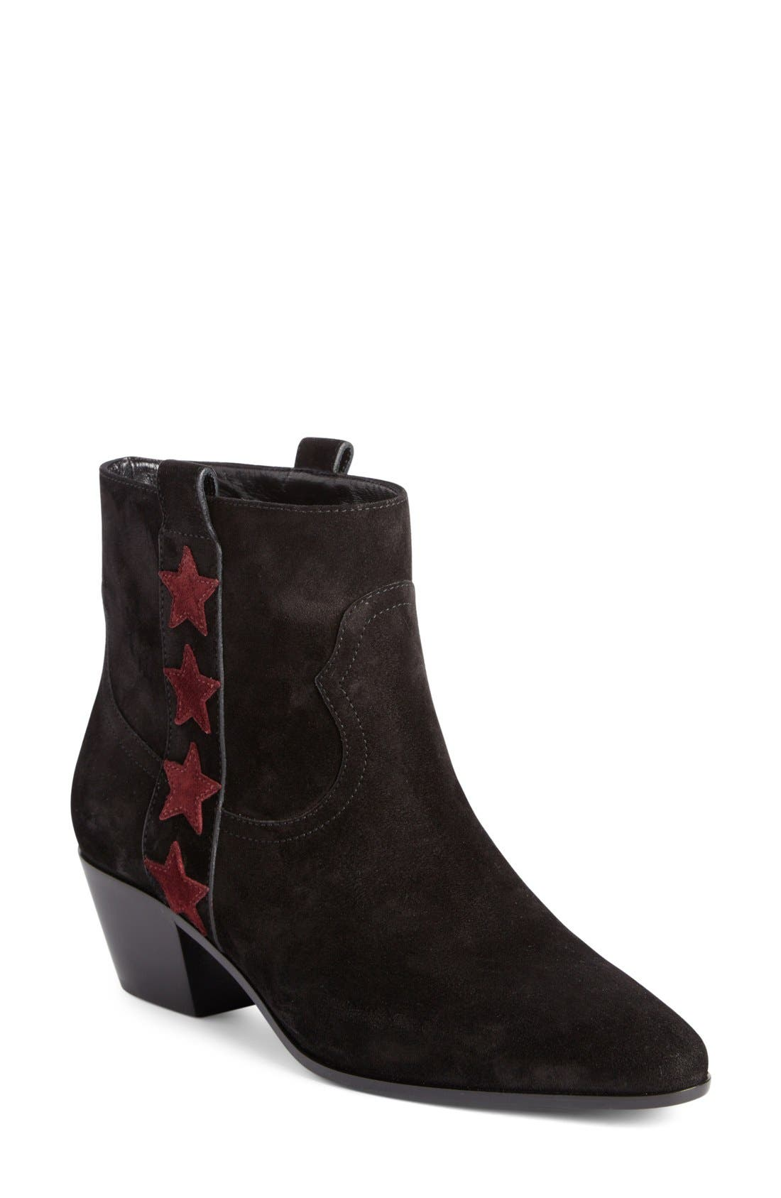 SAINT LAURENT Rock Star Bootie