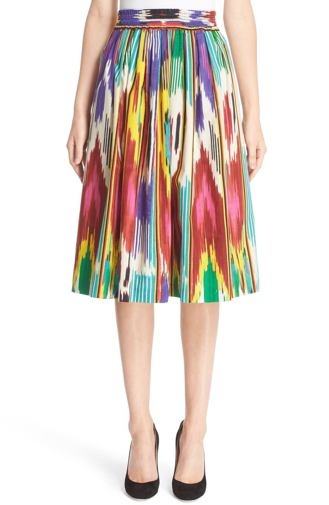 Main Image - Etro Ikat Print Skirt