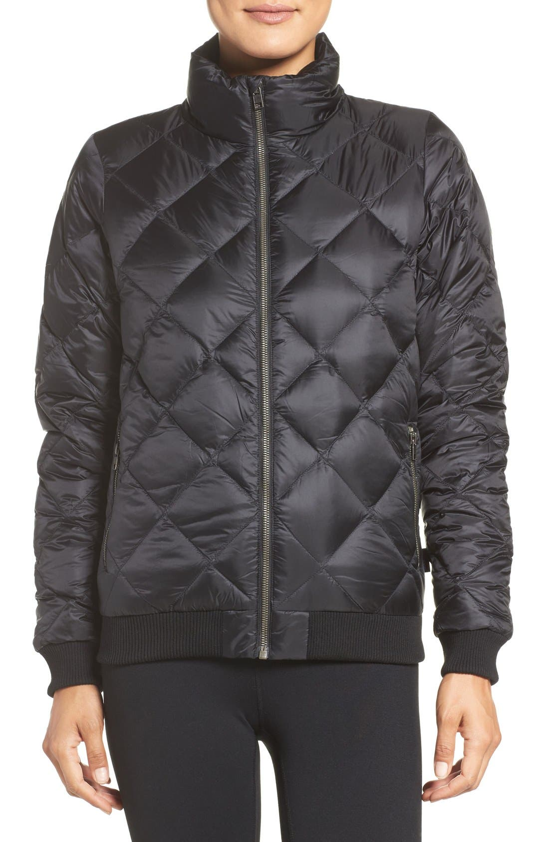Alternate Image 1 Selected - Patagonia Prow Down Bomber Jacket