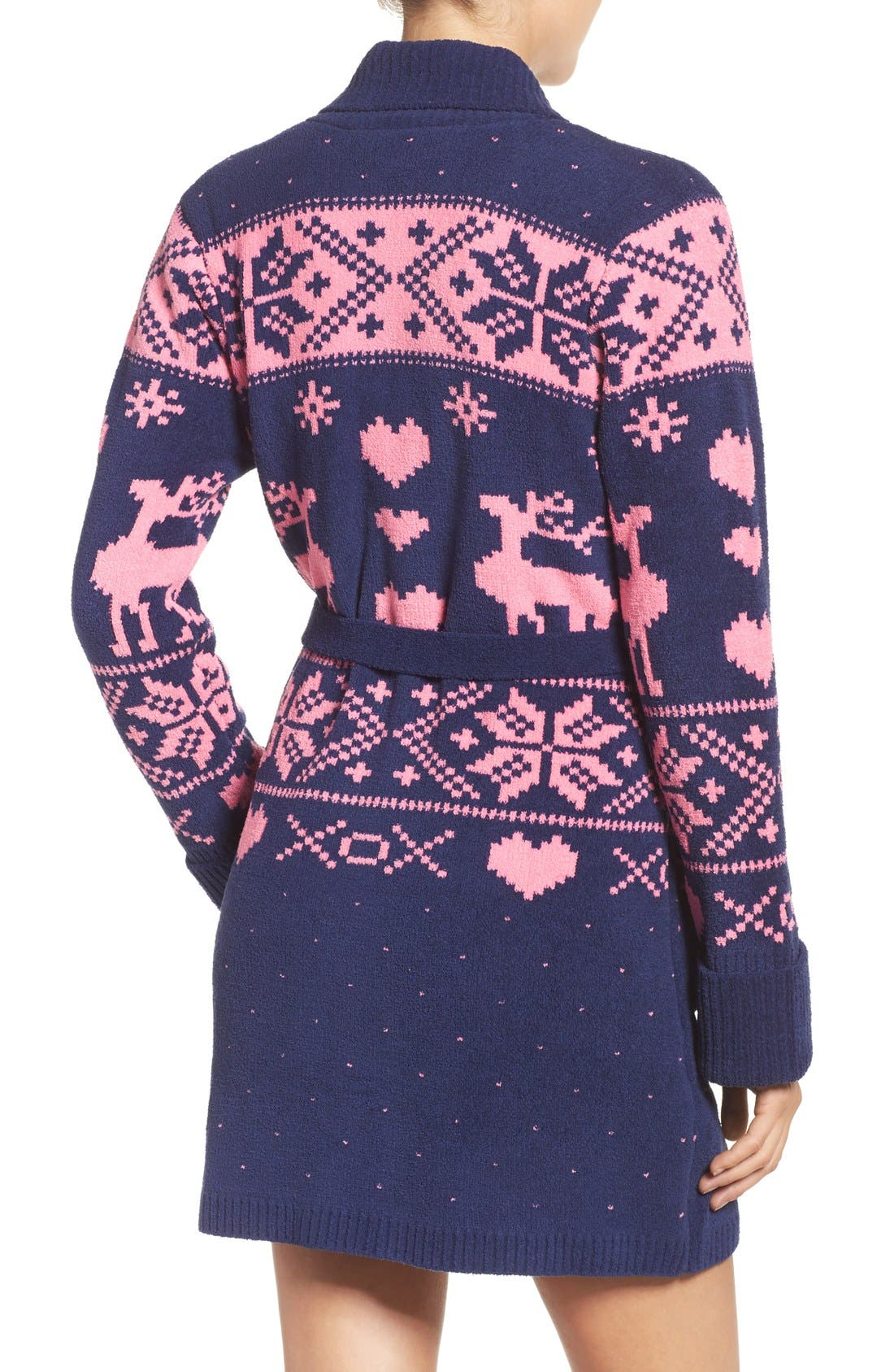 Alternate Image 3  - Betsey Johnson Sweater Robe
