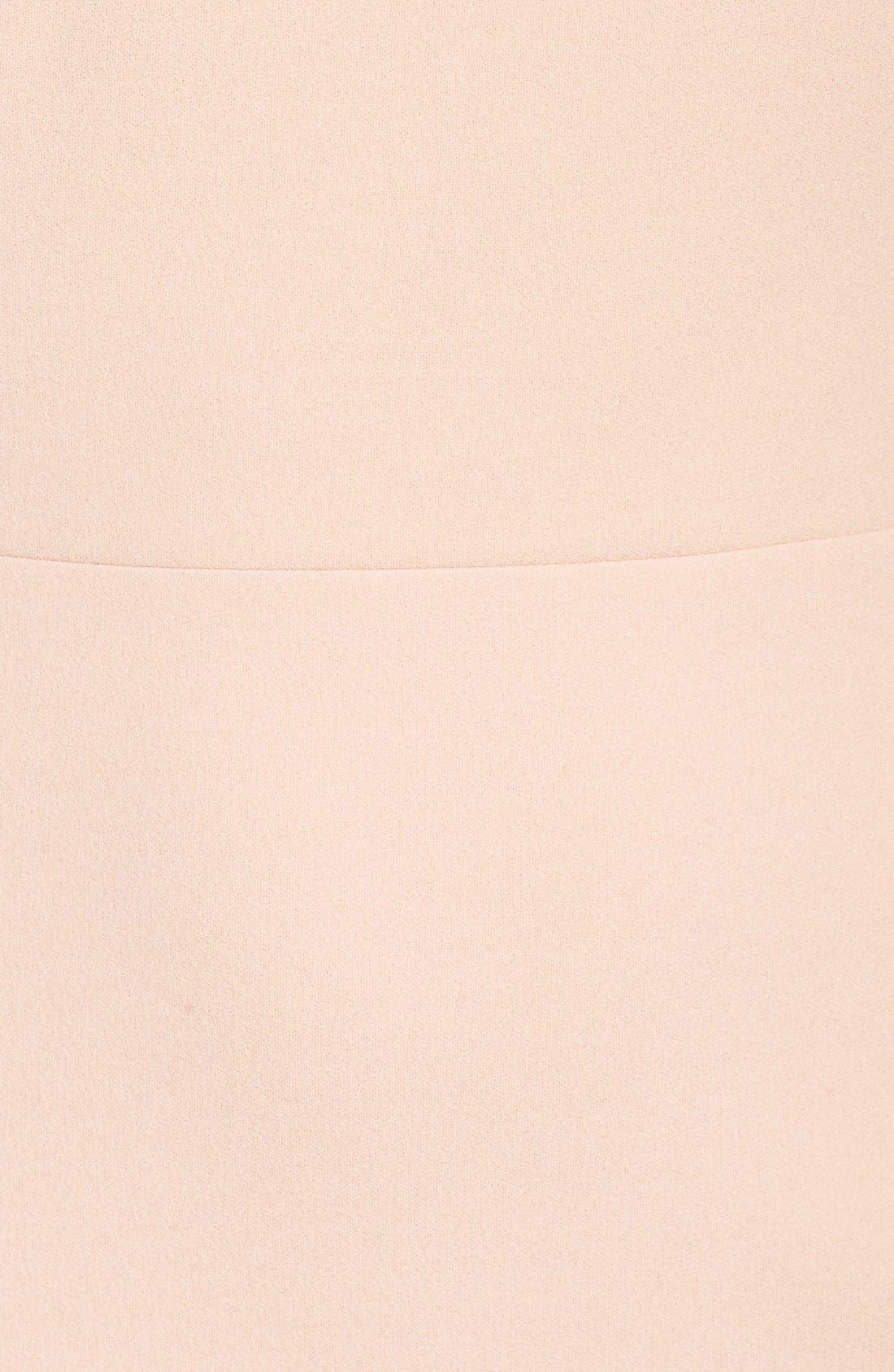 Alternate Image 5  - Ivanka Trump Crepe Midi Dress