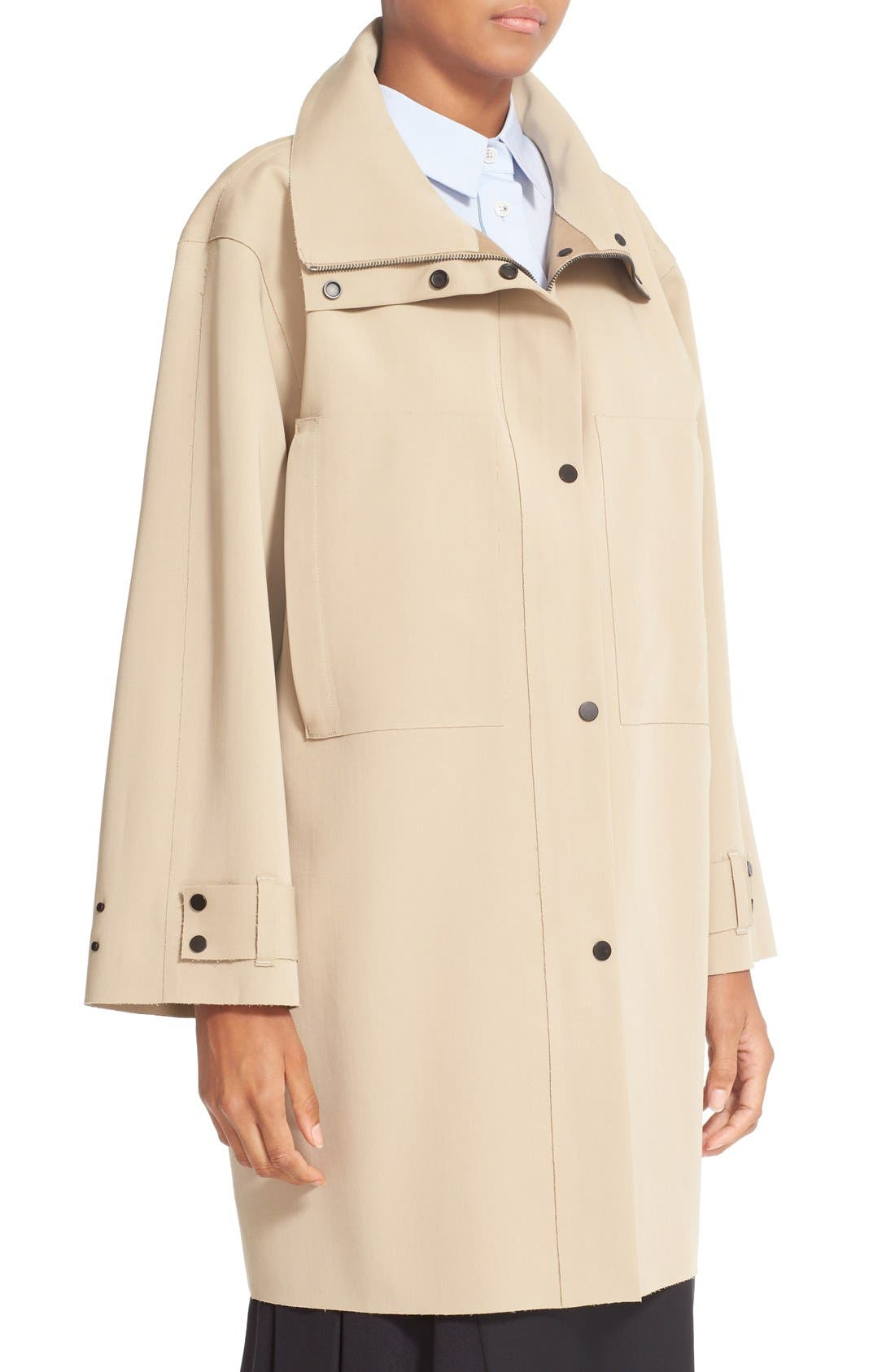 Alternate Image 5  - Colovos Bonded Wool Coat