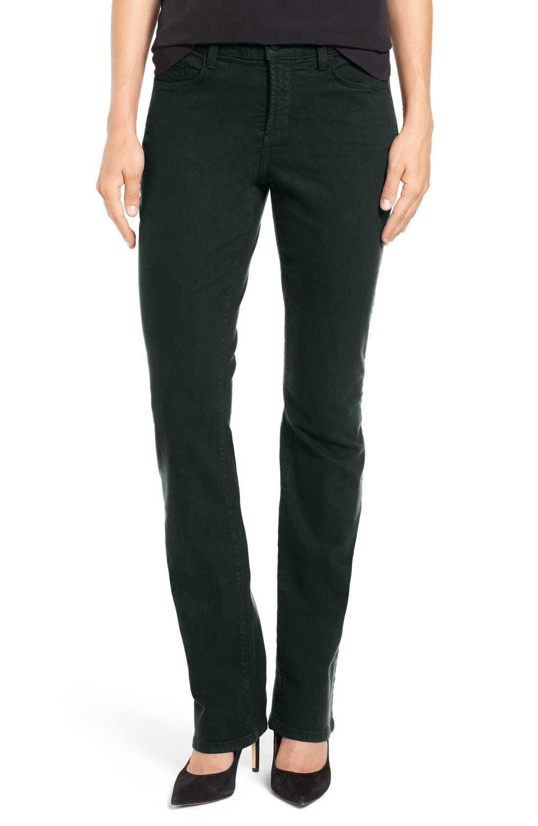 Alternate Image 1 Selected - NYDJ Sheri Stretch Skinny Jeans (Regular & Petite)