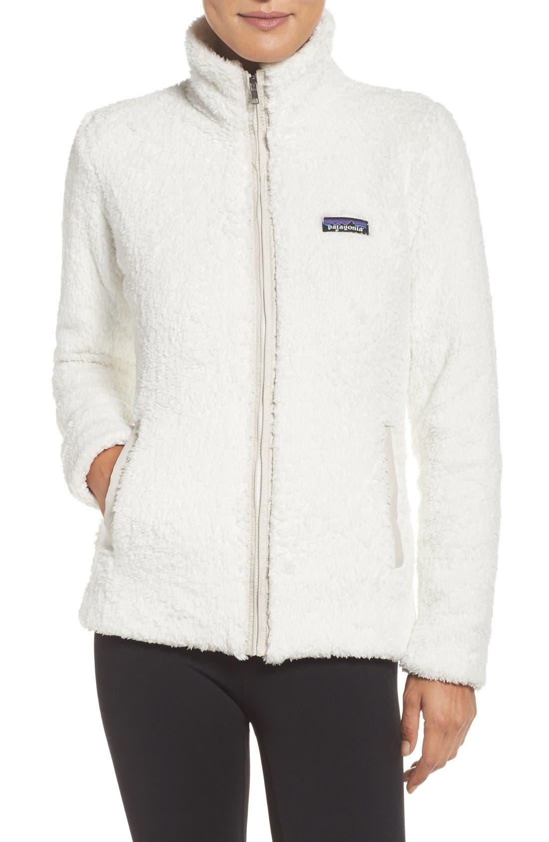 Los Gatos Fleece Jacket,                         Main,                         color, Birch White