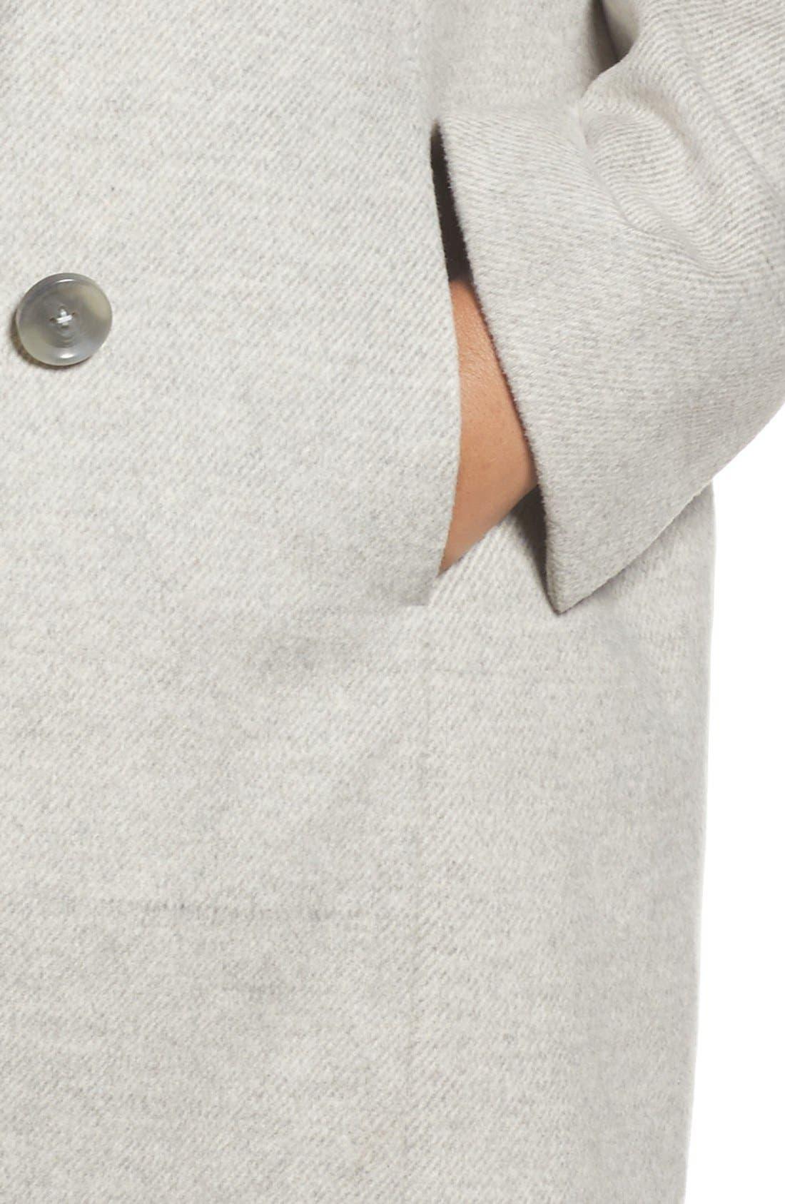 Alternate Image 4  - Tahari Asymmetrical Coat (Plus Size)
