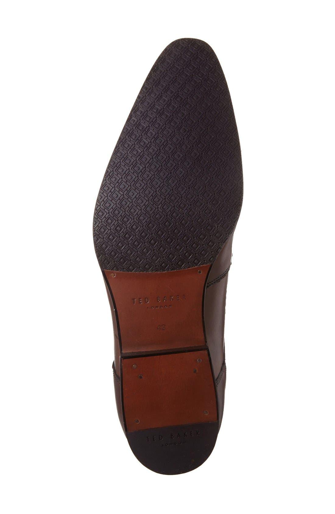 Alternate Image 4  - Ted Baker London 'Martt 2' Plain Toe Derby (Men)