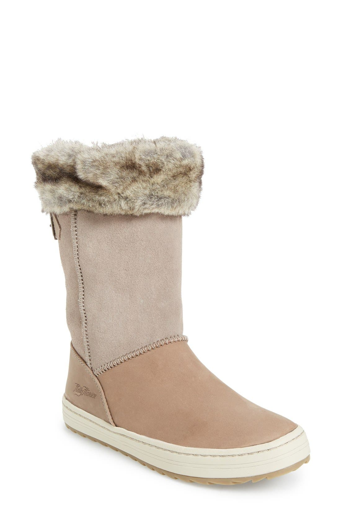 HELLY HANSEN Alexandra 2 Waterproof Boot with Faux Fur Trim