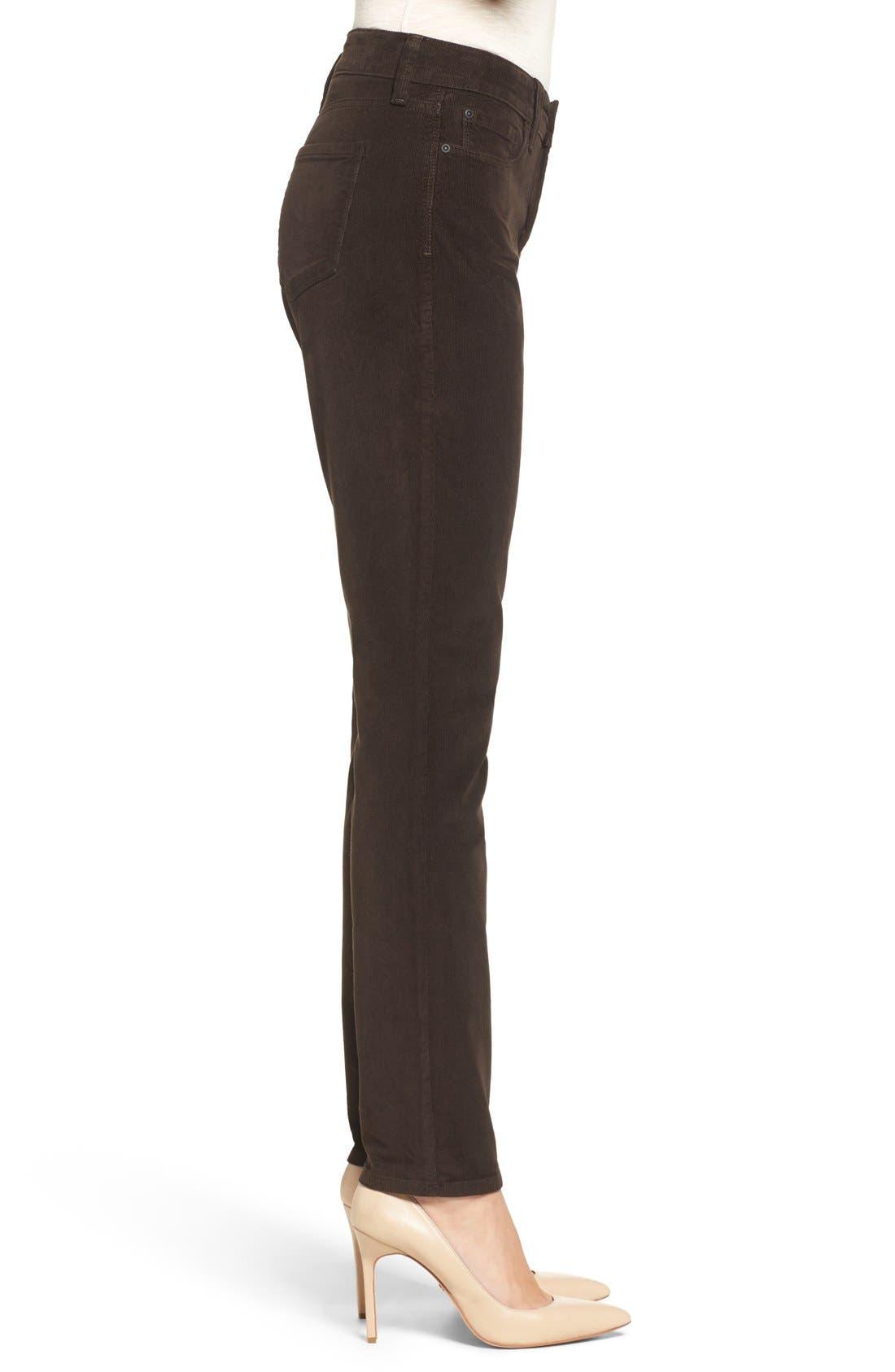 Alternate Image 3  - NYDJ 'Alina' Skinny Stretch Corduroy Pants (Regular & Petite)